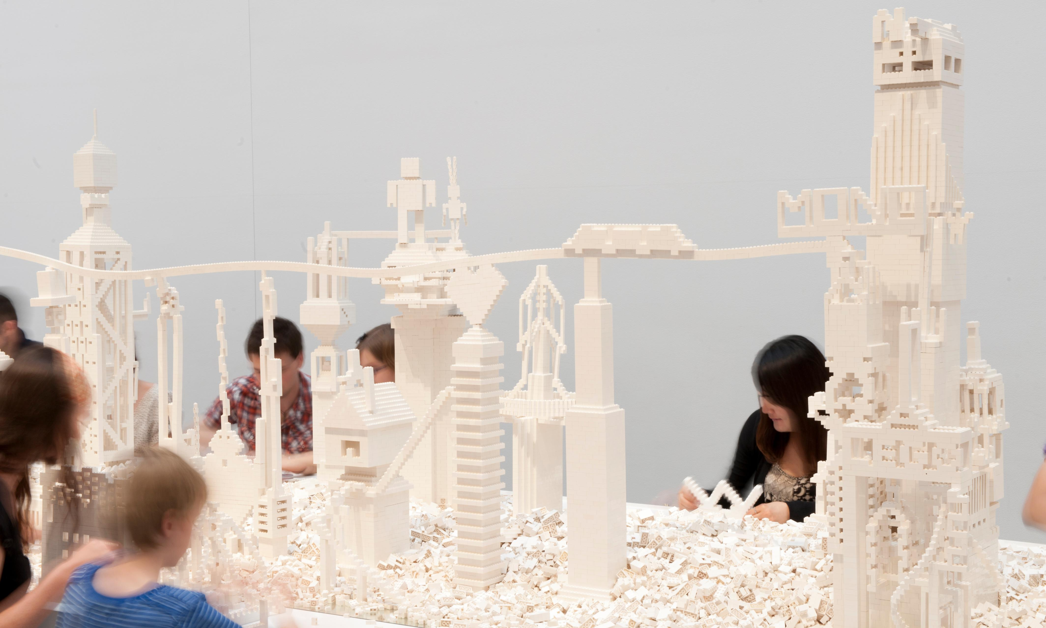 Olafur Eliasson returns to Tate Modern with tonne of white Lego