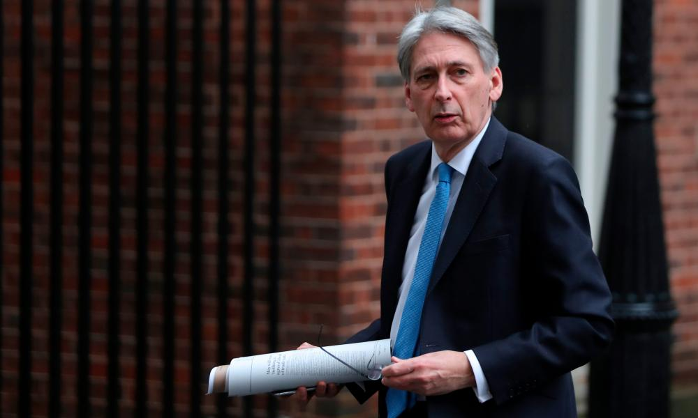 Chancellor Philip Hammond: 'We hear from Europe only backward-looking stuff'