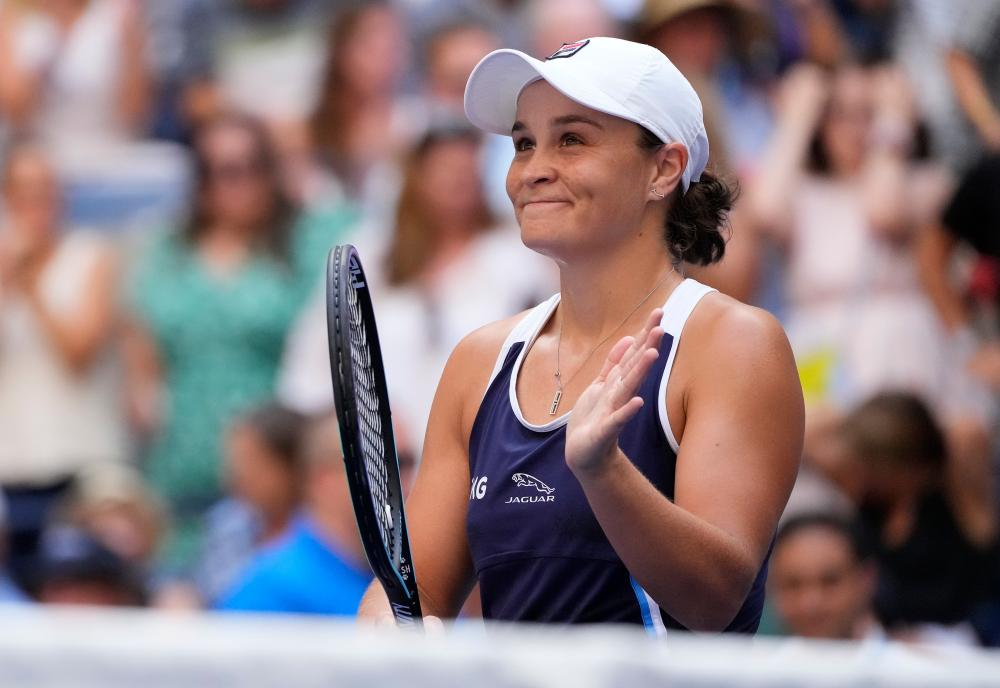Ashleigh Barty looks pleased after her win over Vera Zvonareva.