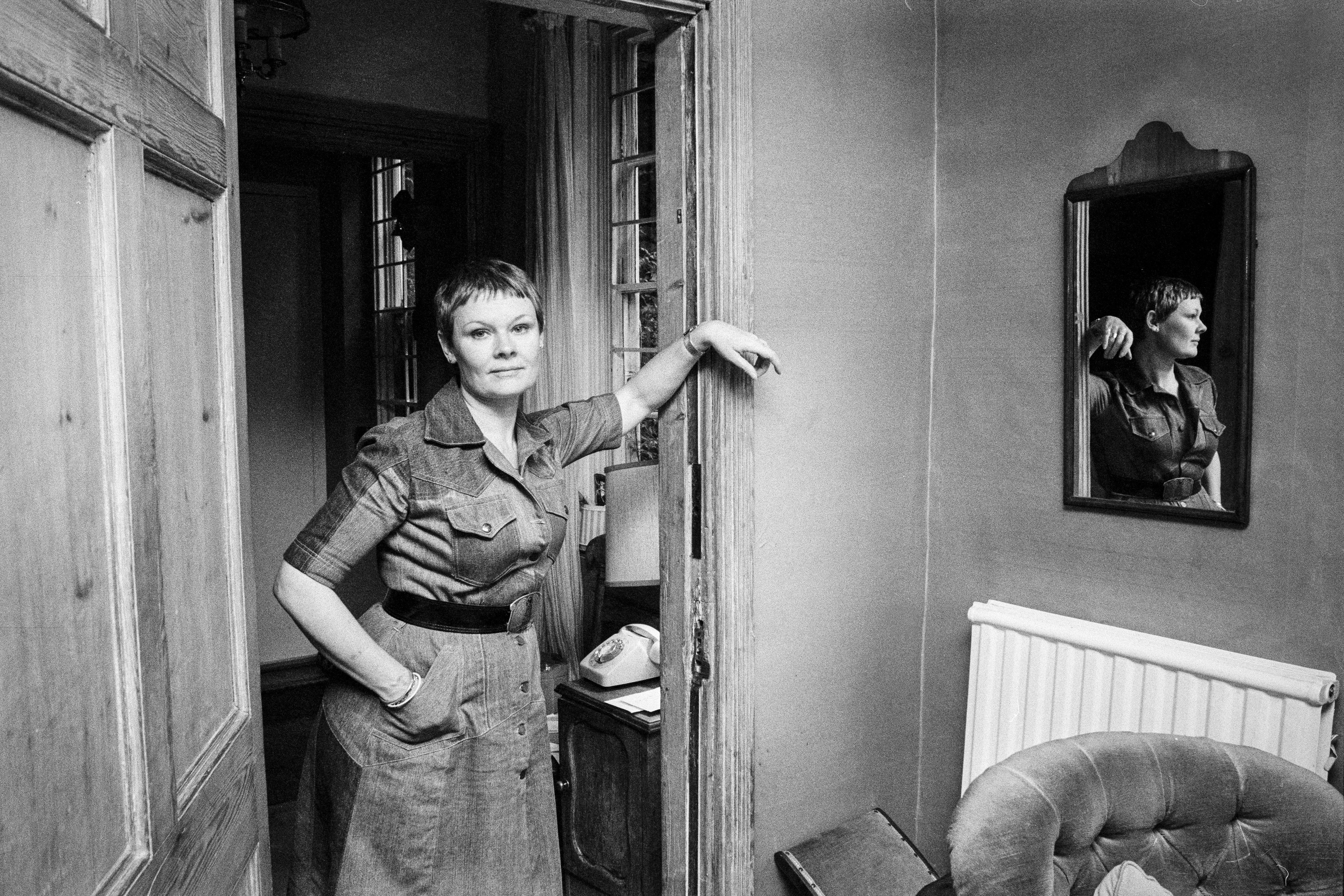 Buy your own Guardian classic photograph: Judi Dench, August 1977