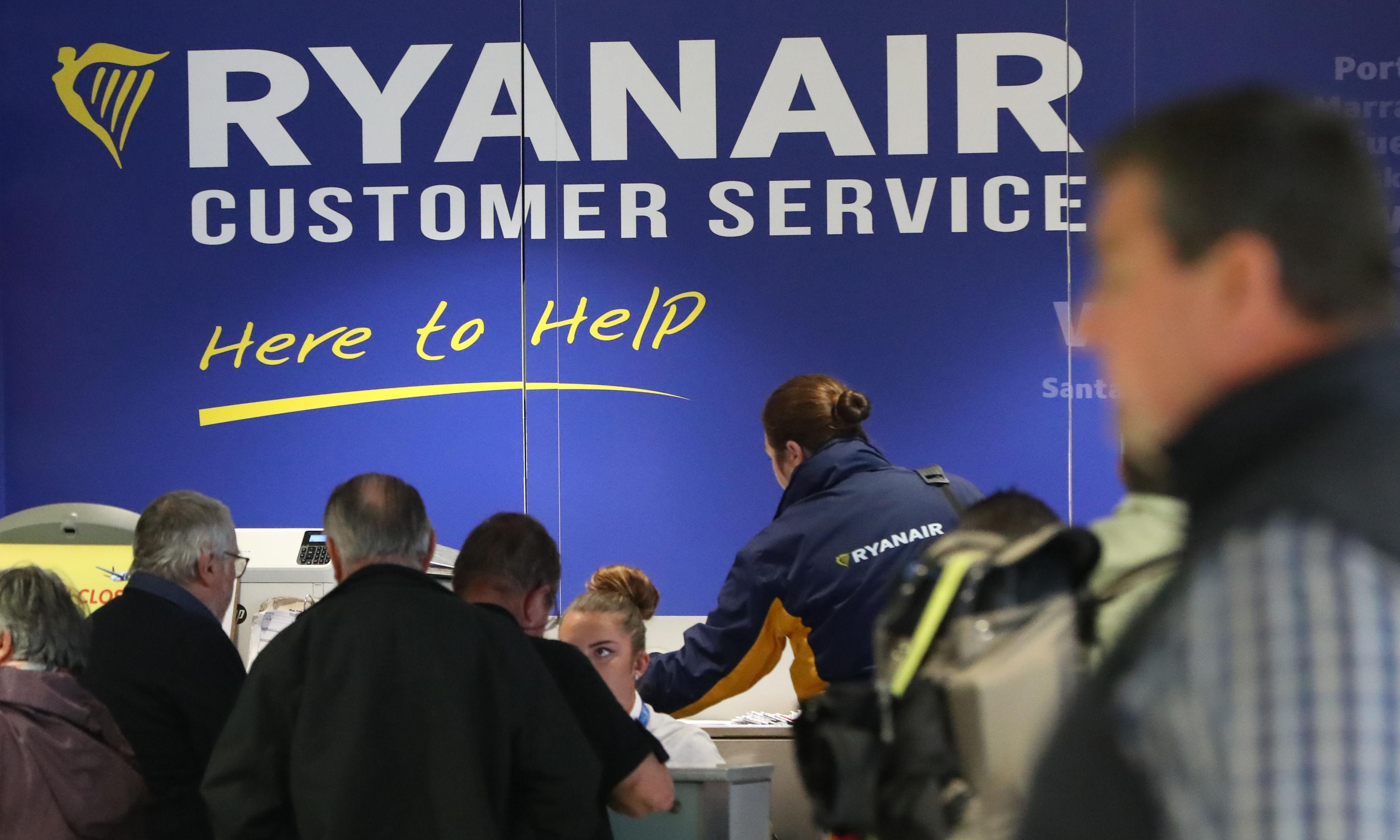 Ryanair passengers get double the time to alter bookings for free