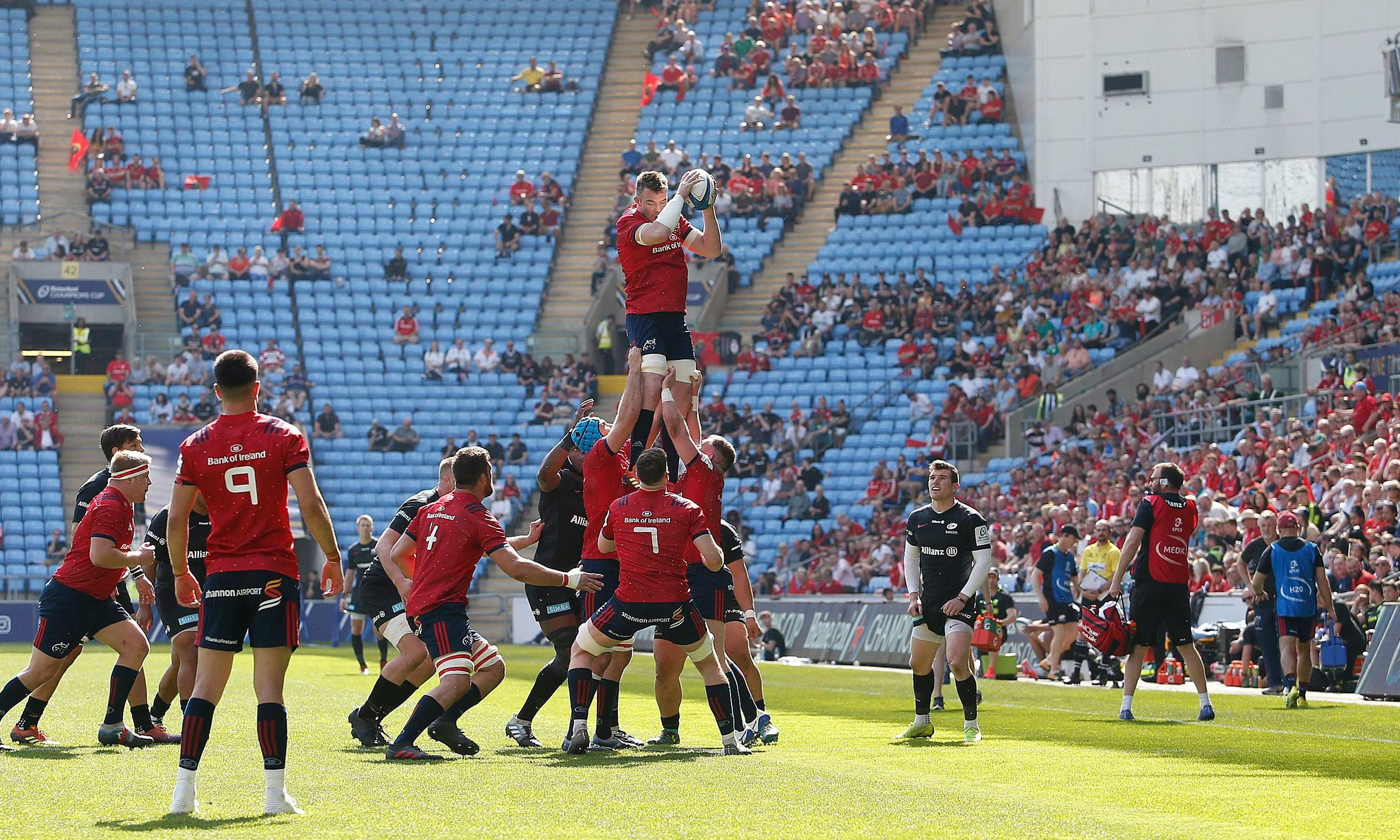 Empty seats leave Champions Cup licking its wounds and looking at rejig