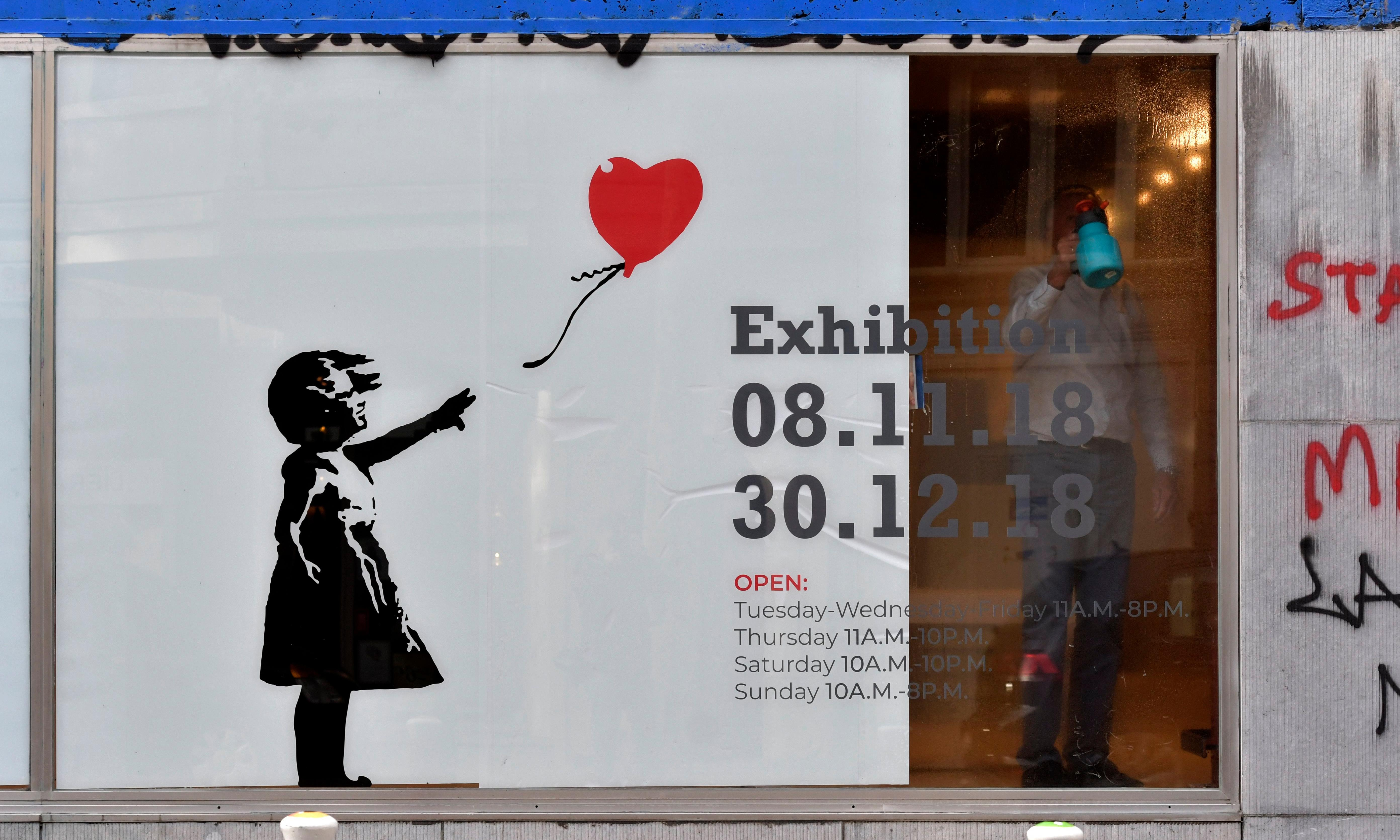 Banksy works worth £12m impounded in Belgium after legal row