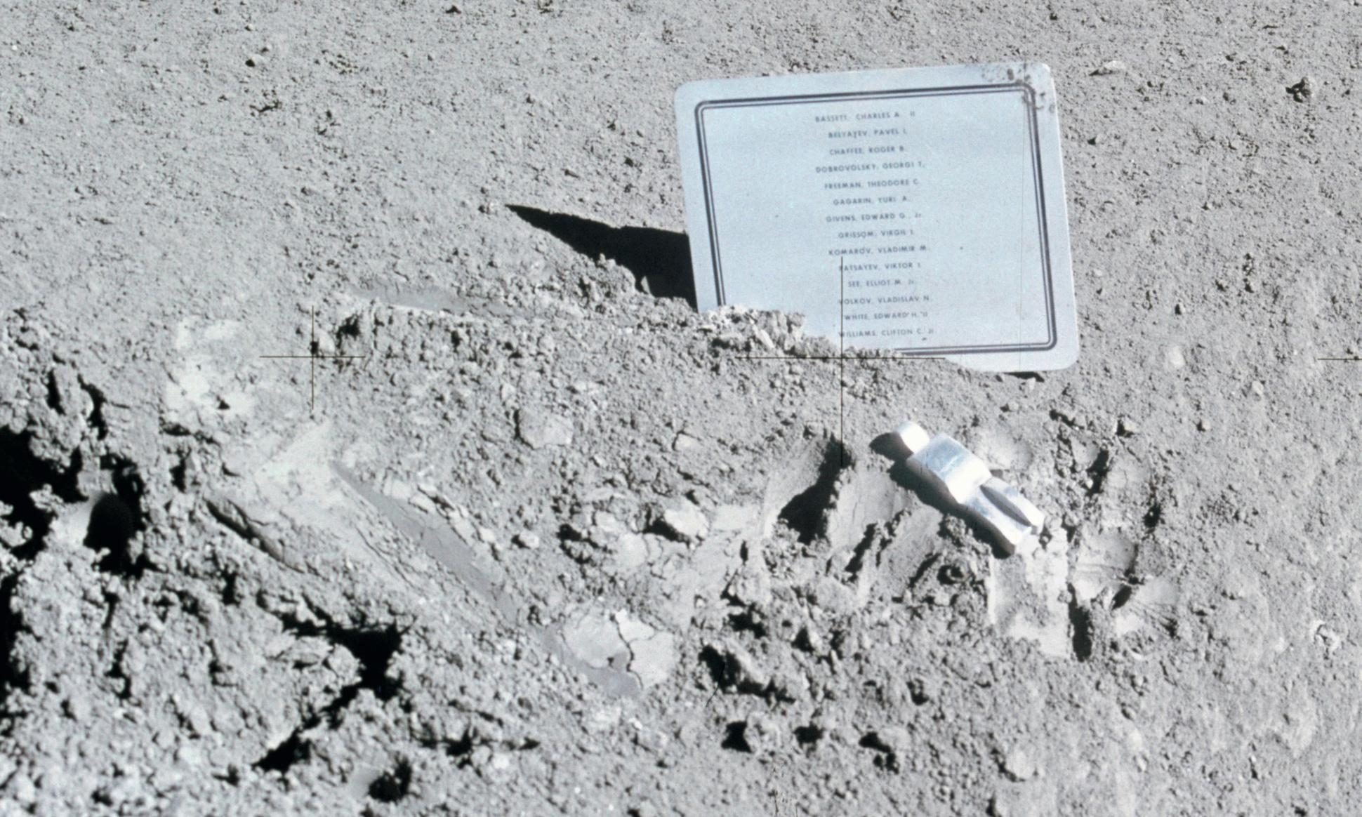 Moon buggies and bags of poo: what humans left on the moon