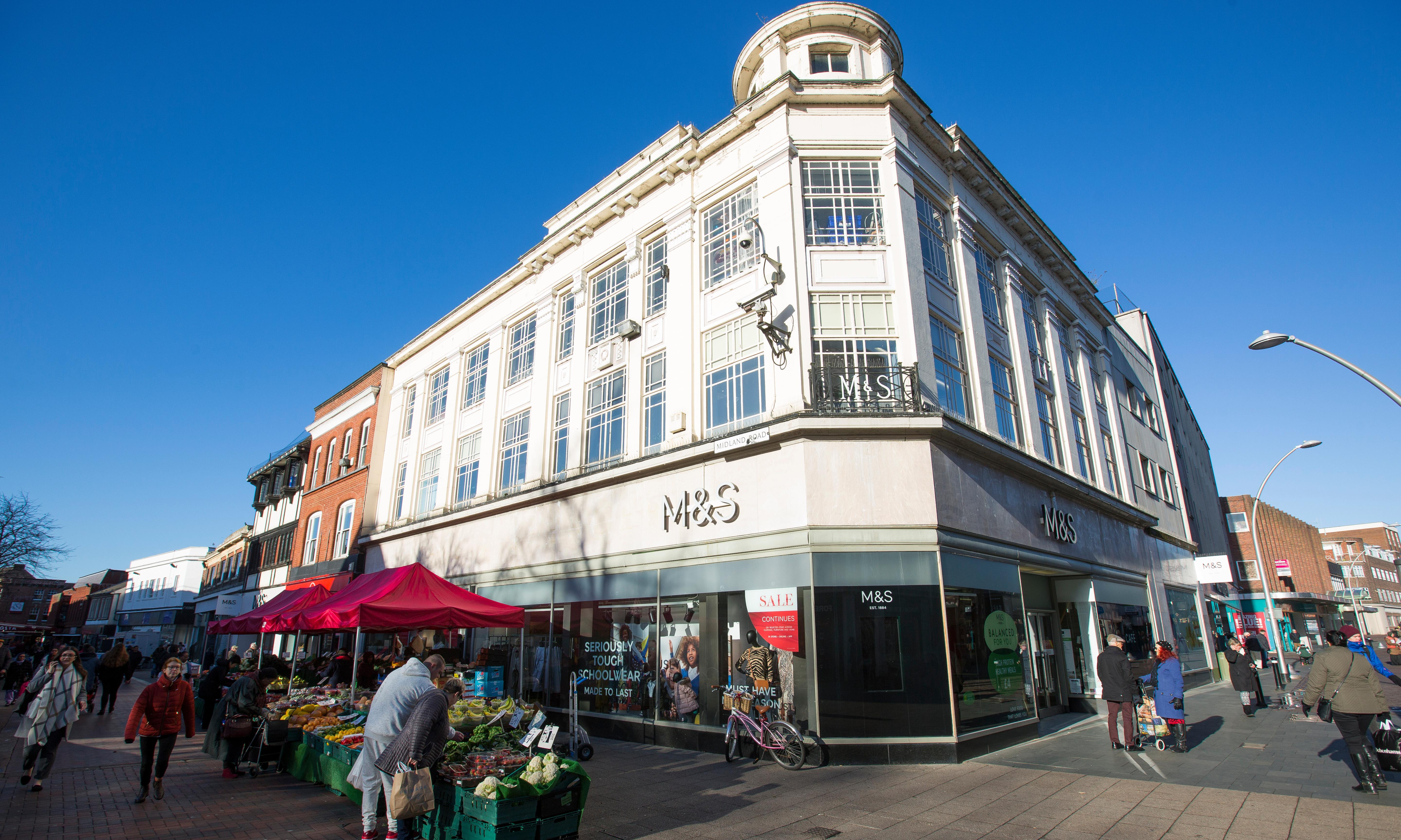'We have always had a Marks & Spencer here. It's very sad'