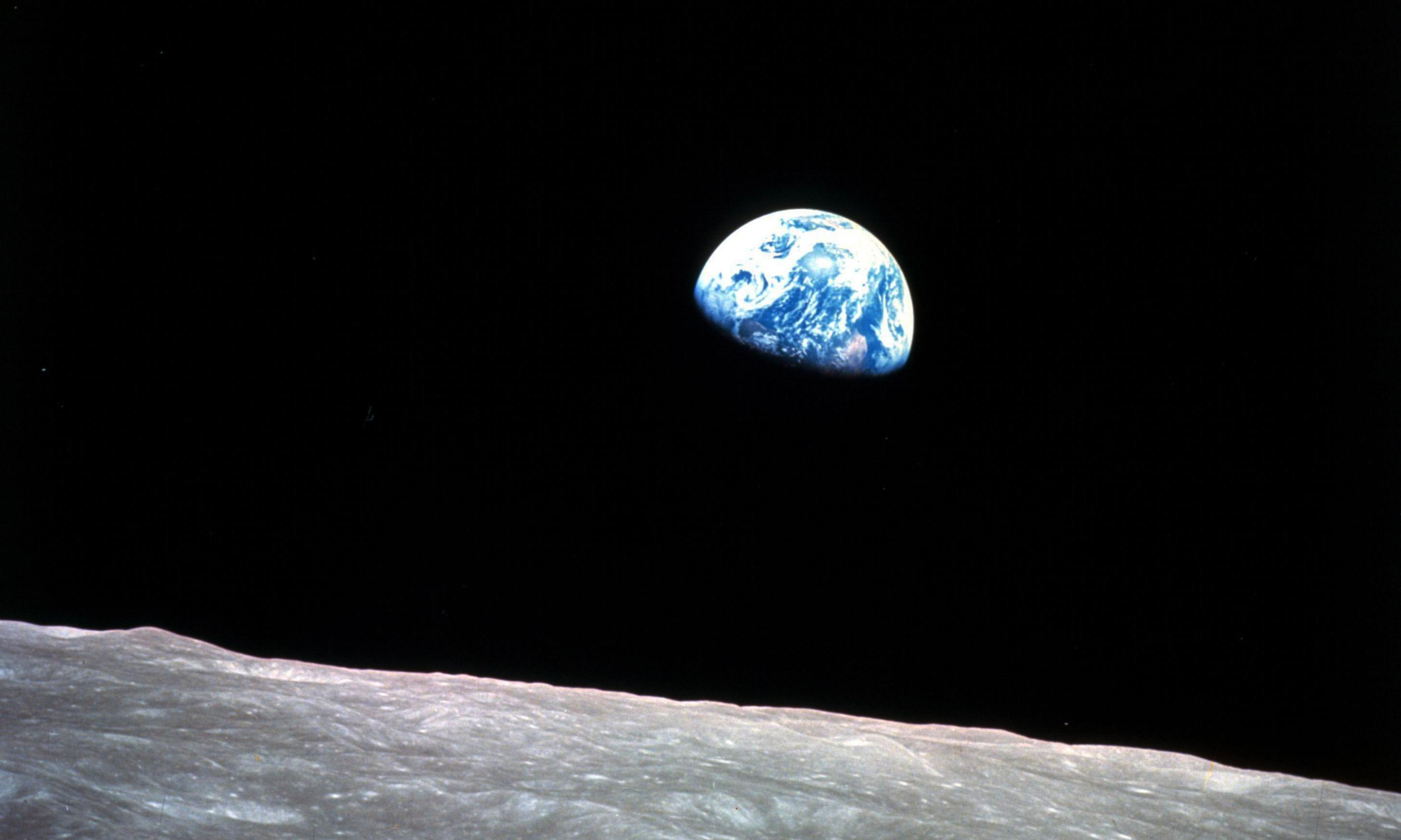 Earthrise at 50: the photo that changed how we see ourselves