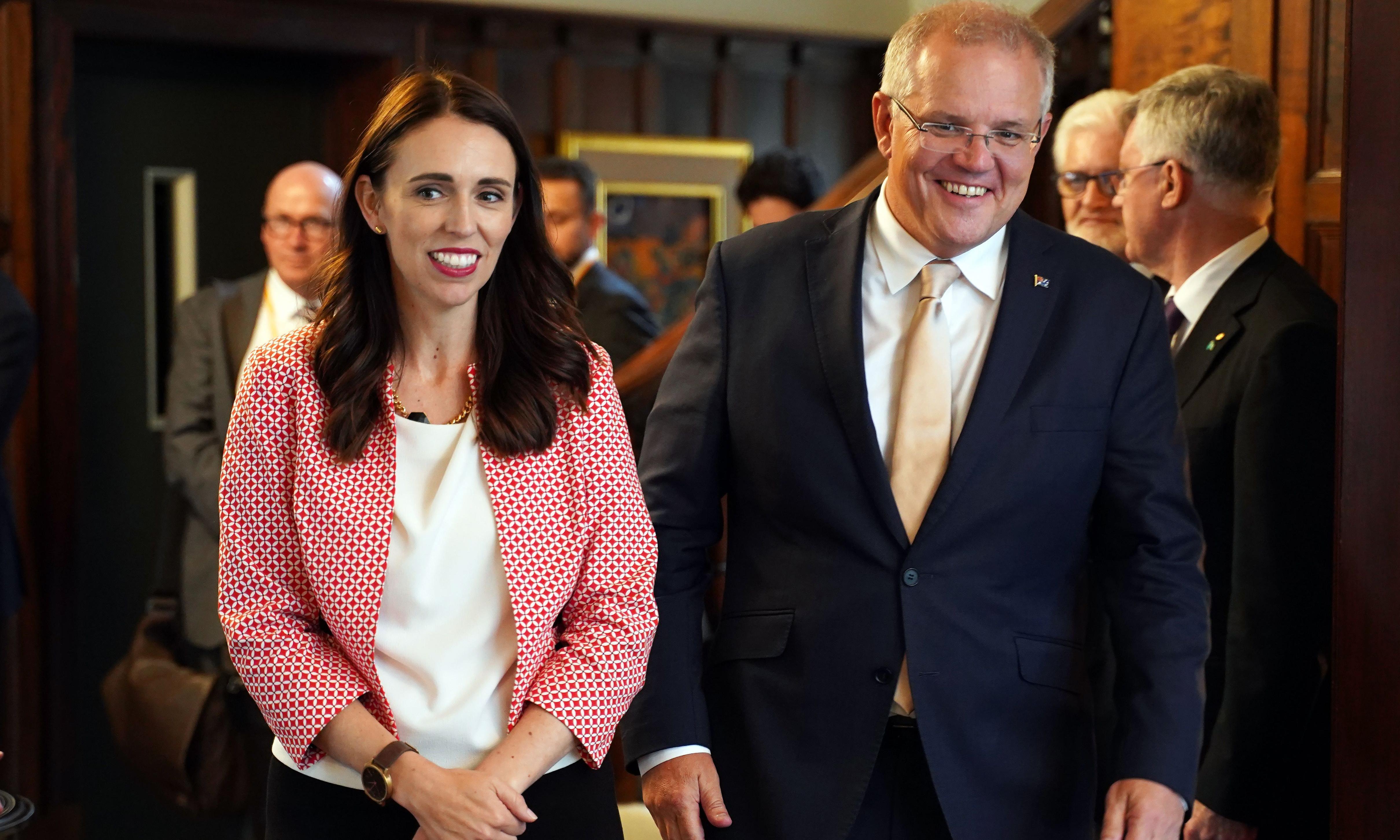 Jacinda Ardern tells Scott Morrison Australia's deportation policy 'corrosive'