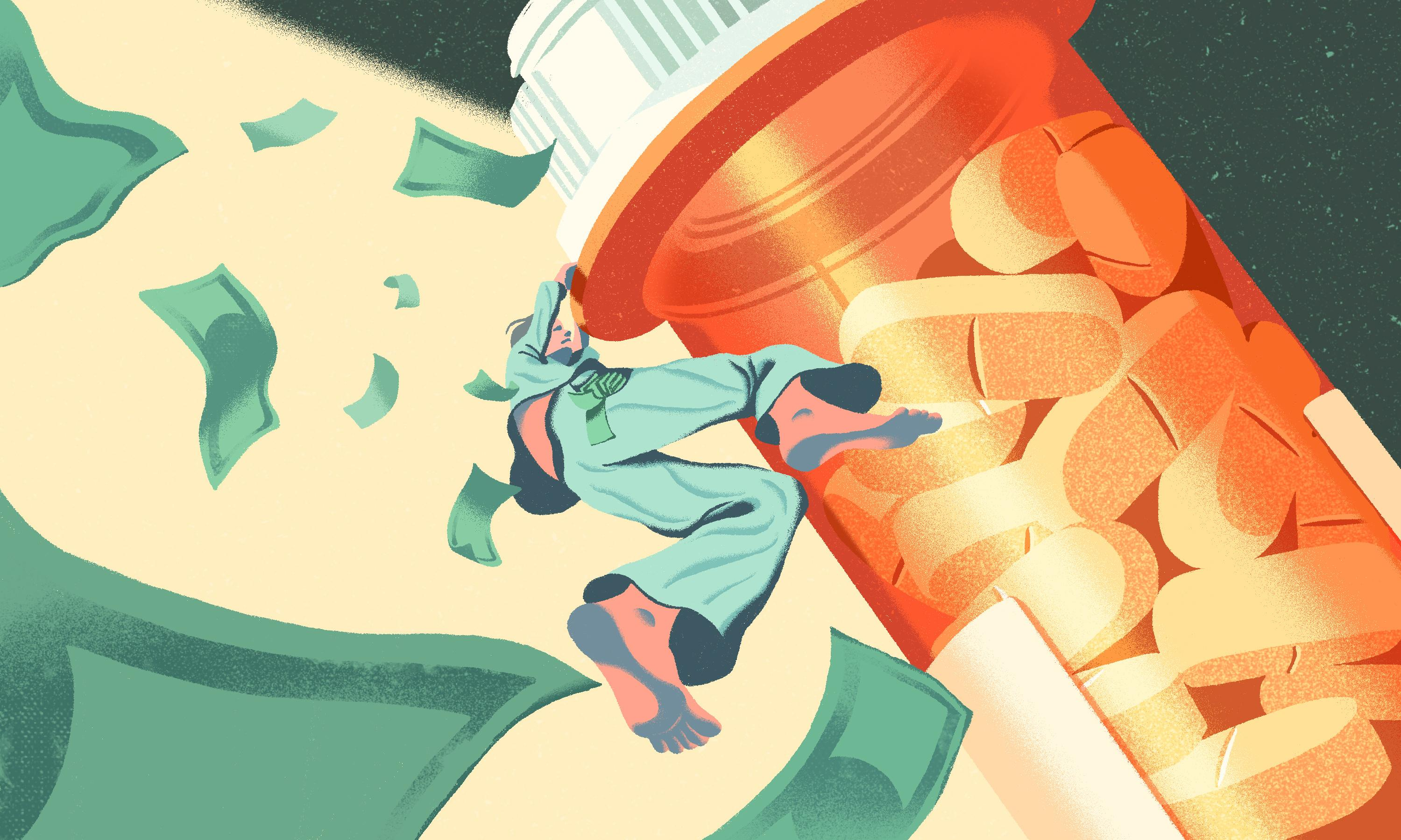 The Americans forced into bankruptcy to pay for prescriptions