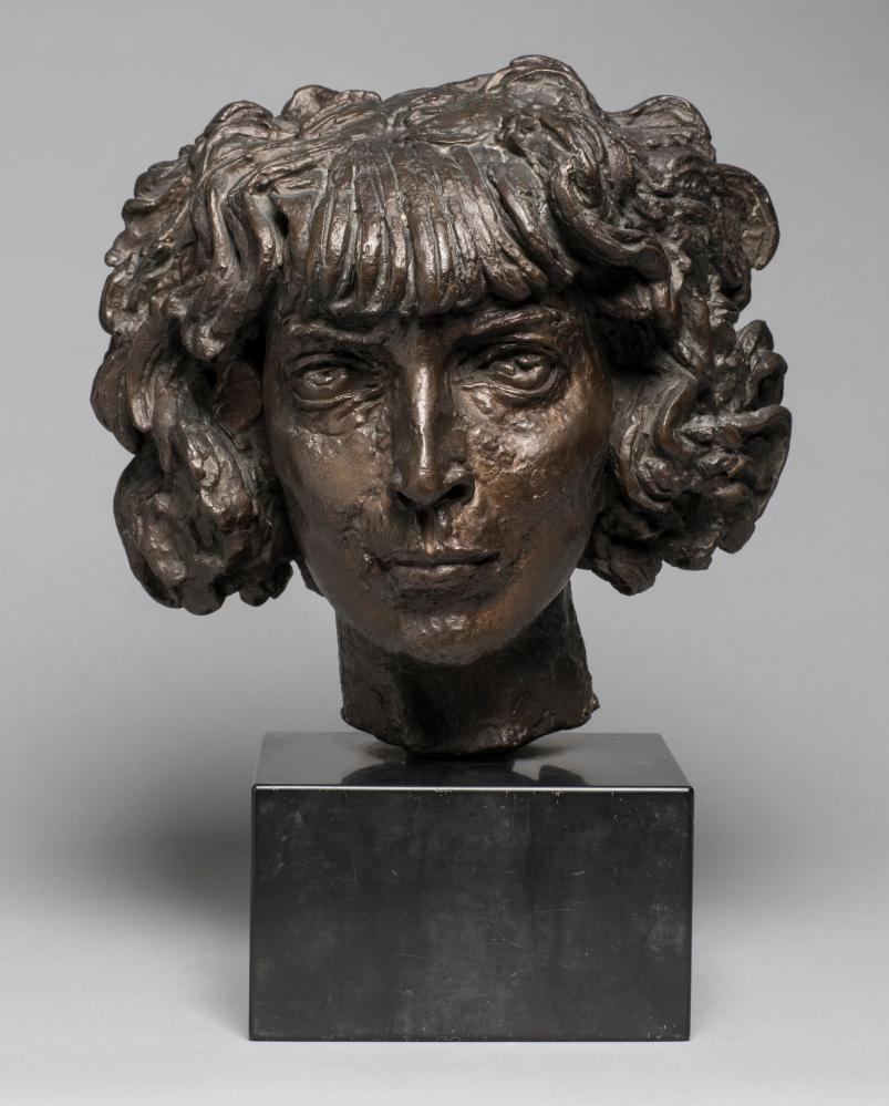 Jacob Epstein's 1918 sculpture of the head of Italian arts patron Marchesa Luisa Casati Stampa di Soncino