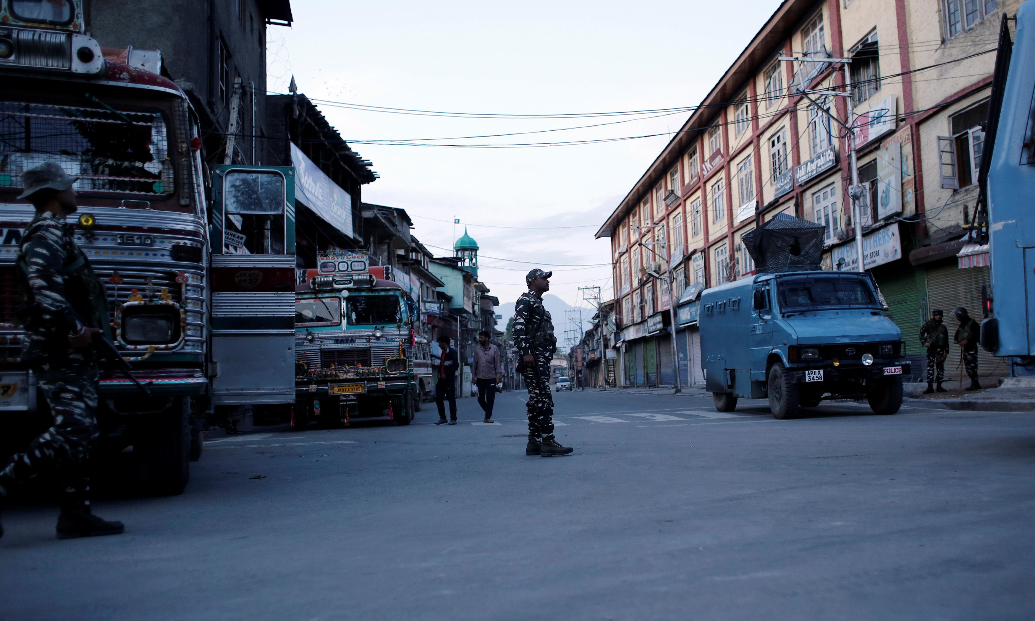 Kashmir: suspected militant killed in Indian security operation