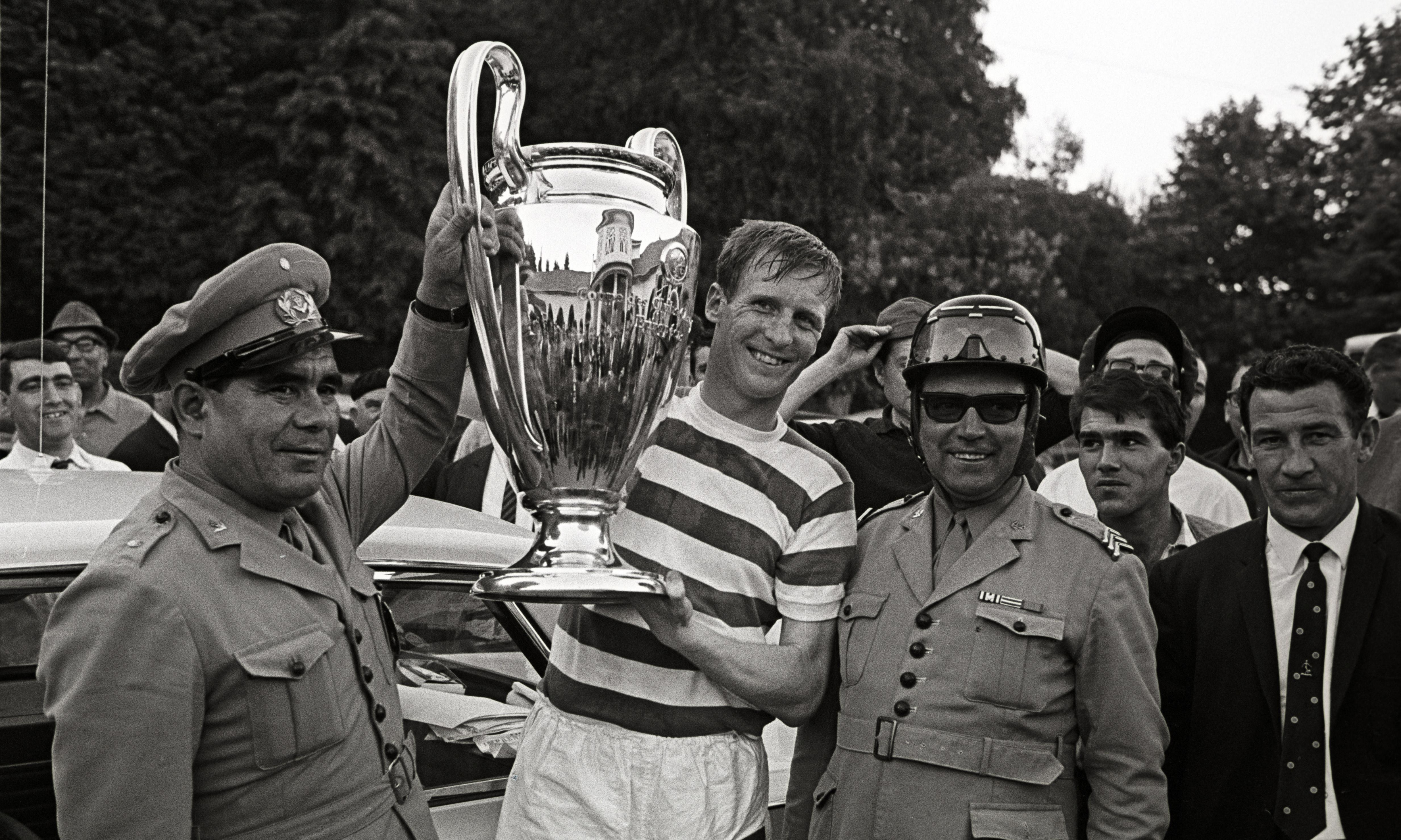 Billy McNeill, captain of Celtic's European Cup-winning team, dies aged 79
