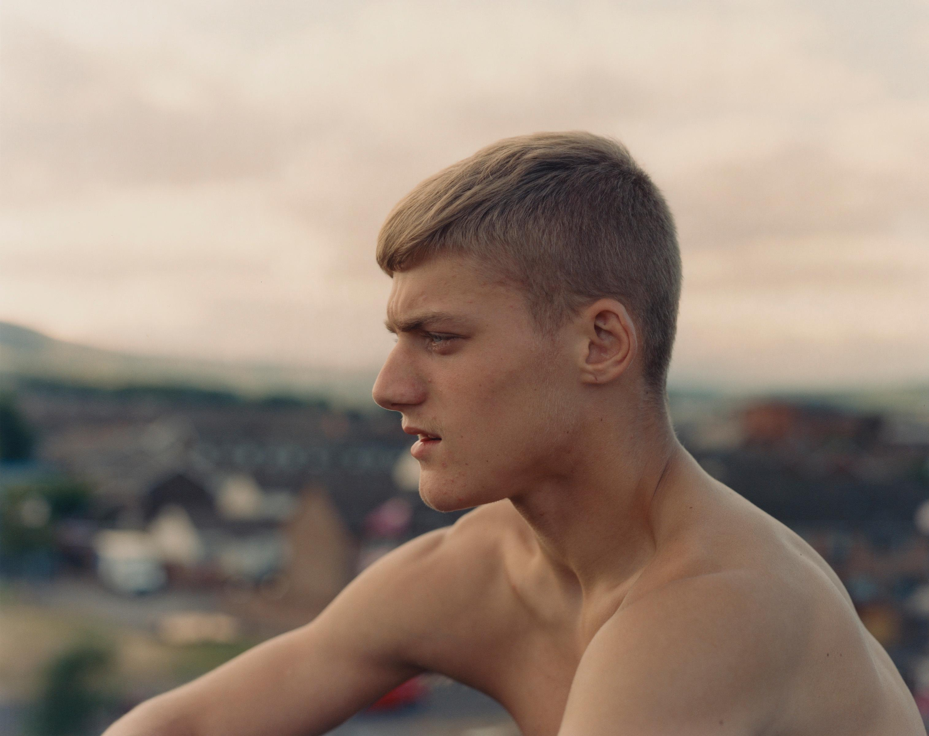 Photo of young man on Belfast estate up for Taylor Wessing prize