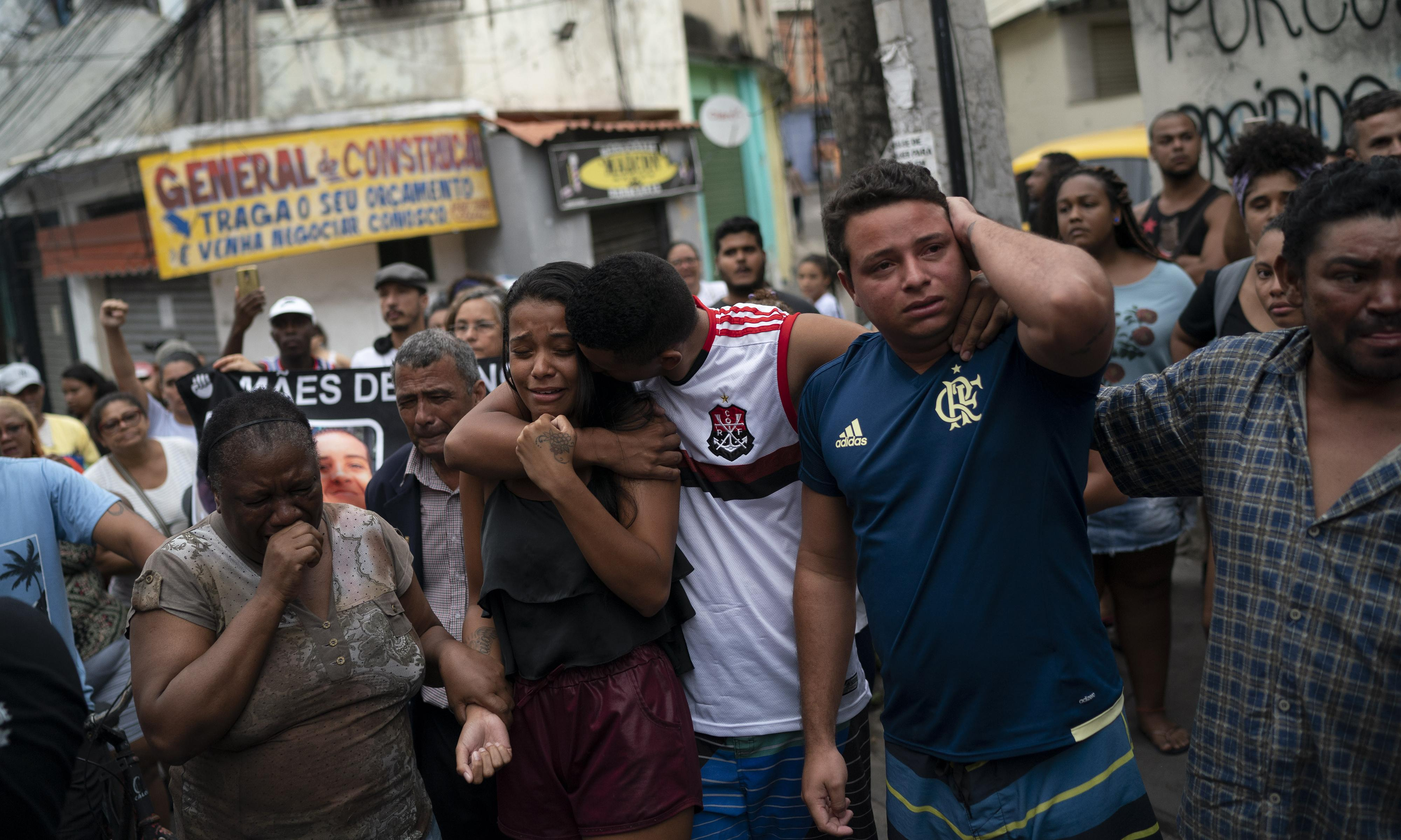 Brazilians blame Rio governor's shoot-to-kill policy for death of girl