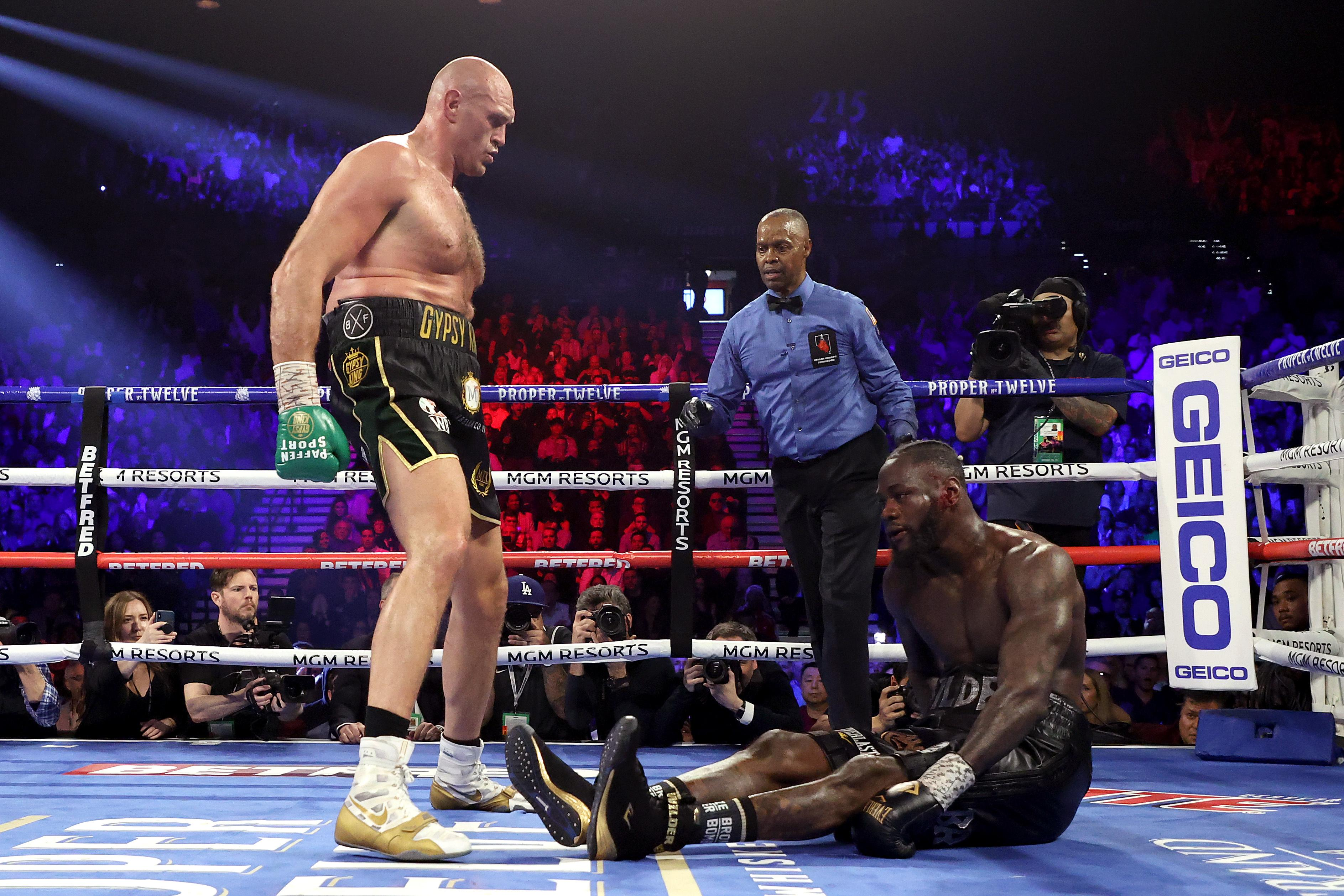 Tyson Fury expects Deontay Wilder rematch rather than Joshua showdown