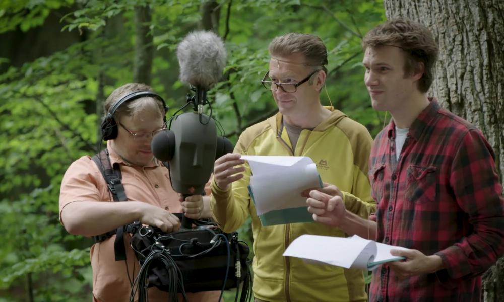 The Discovery adventures podcast. Savernake Forest and features Hugh Skinner, Chris Packham and Gareth Fry