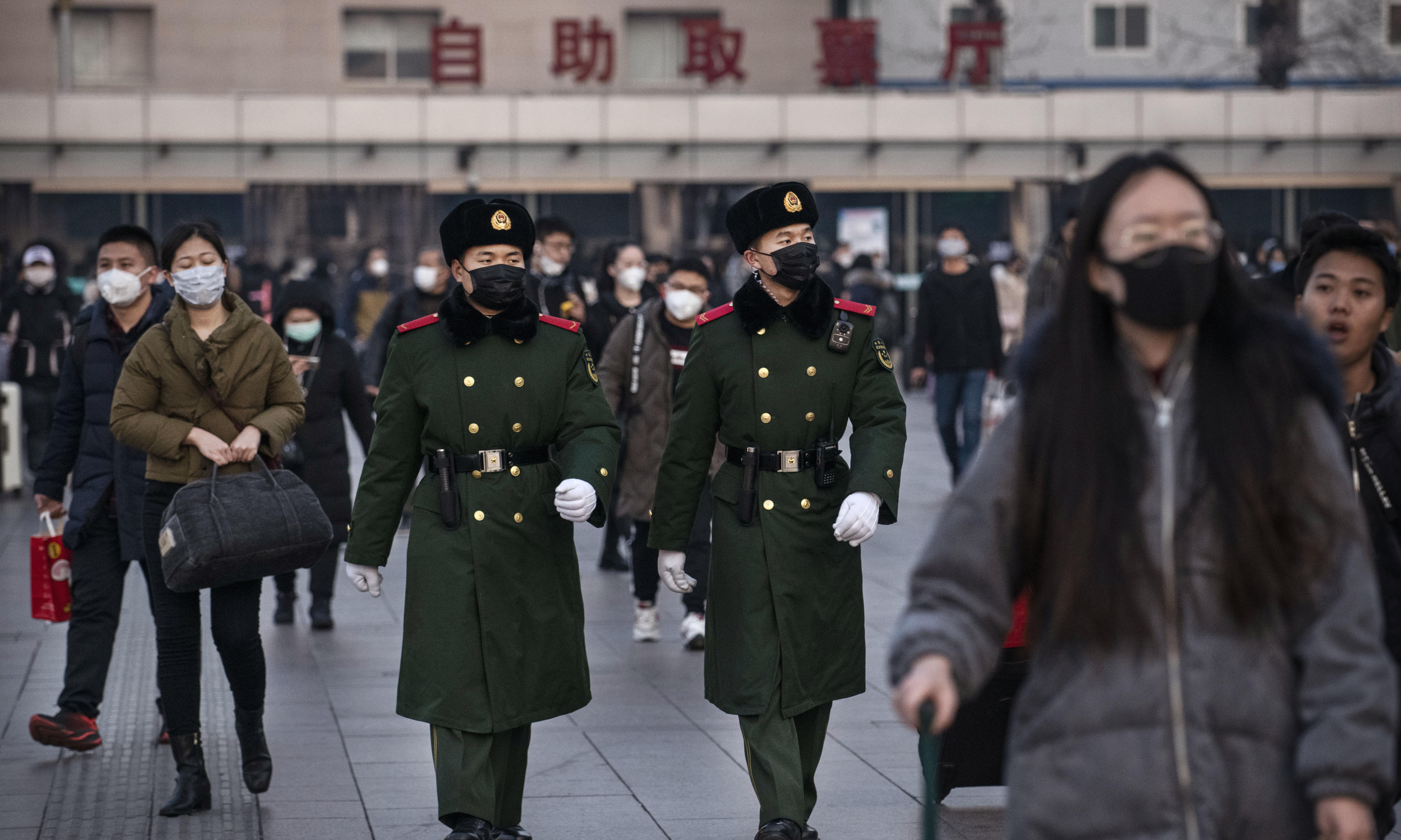 Coronavirus: UK universities issue quarantine warning to Chinese students