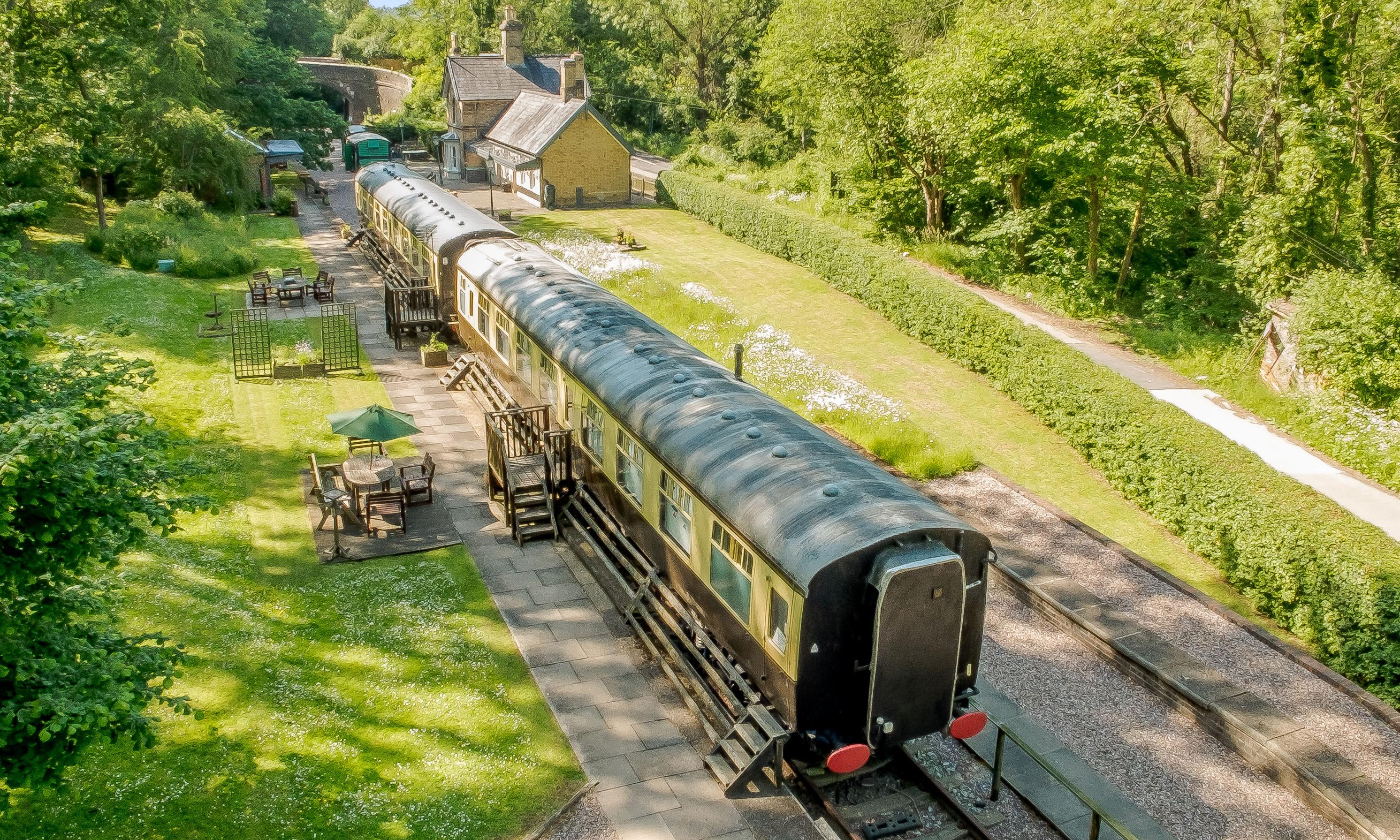 10 of the UK's best railway station and cottage stays