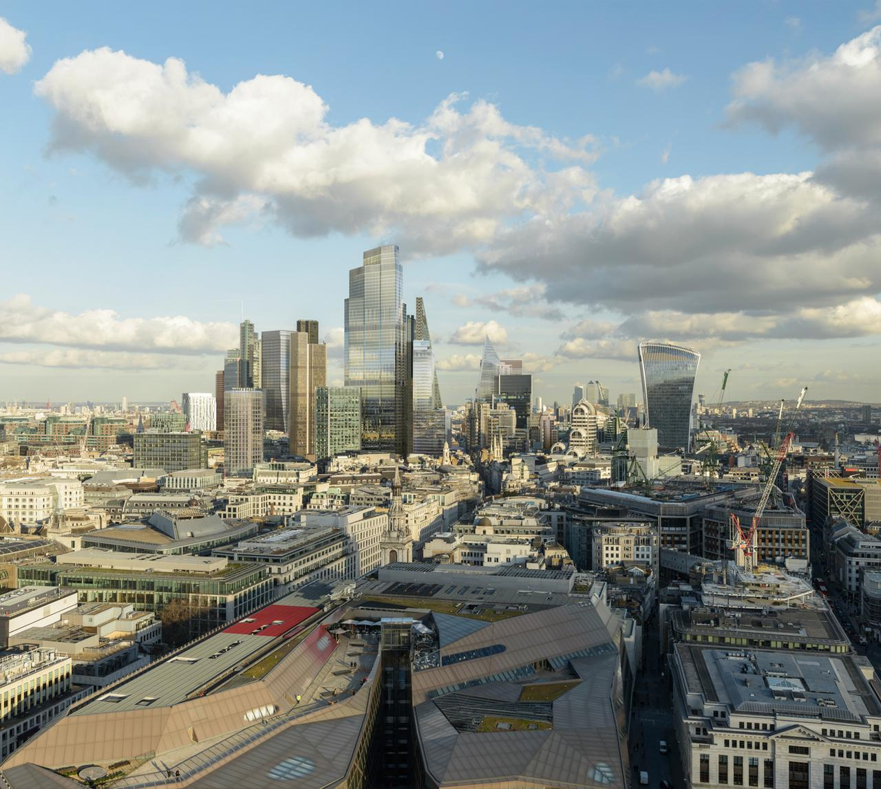 Londons changing skyline planned tall buildings almost double