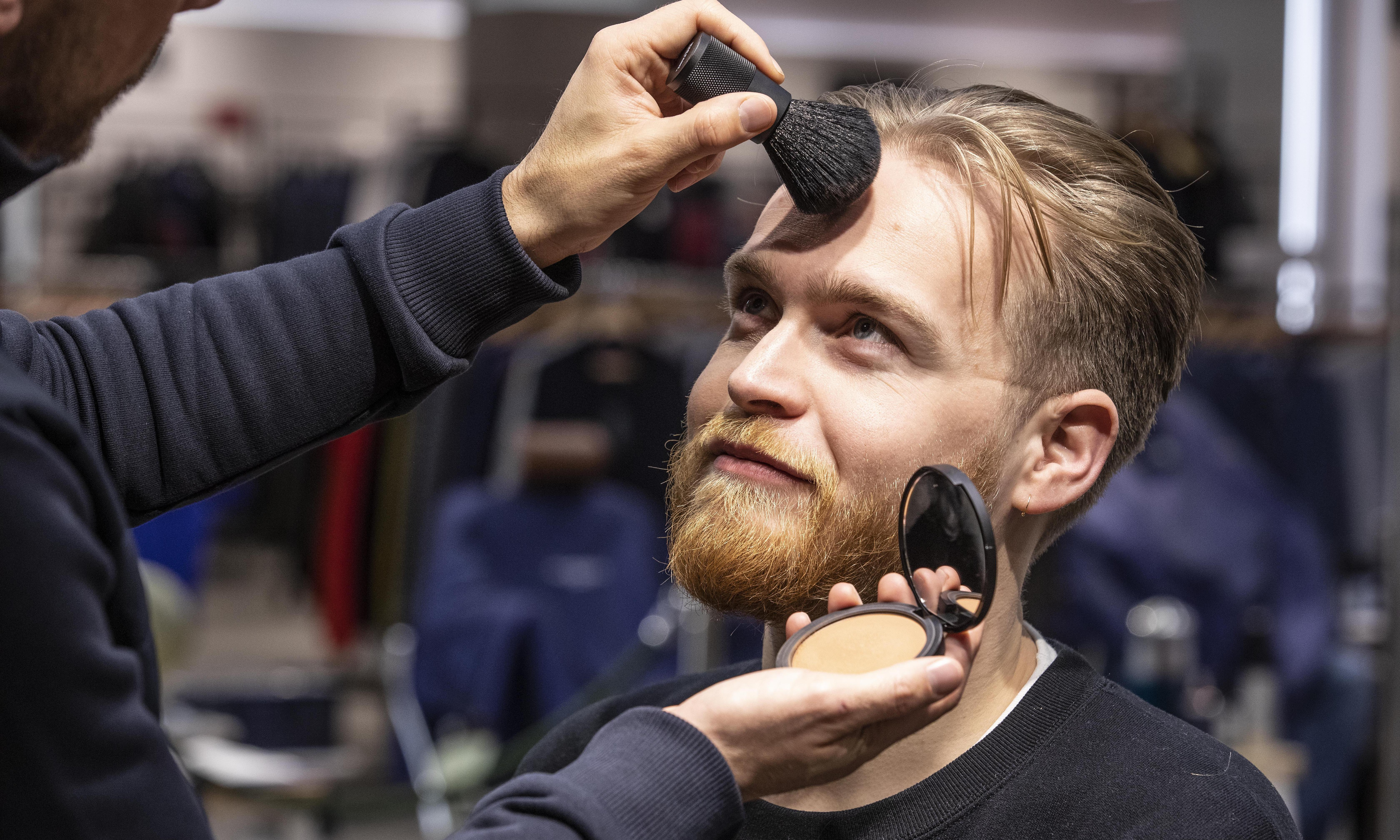 Male makeup signals a move away from rigid gender roles – but there's a catch