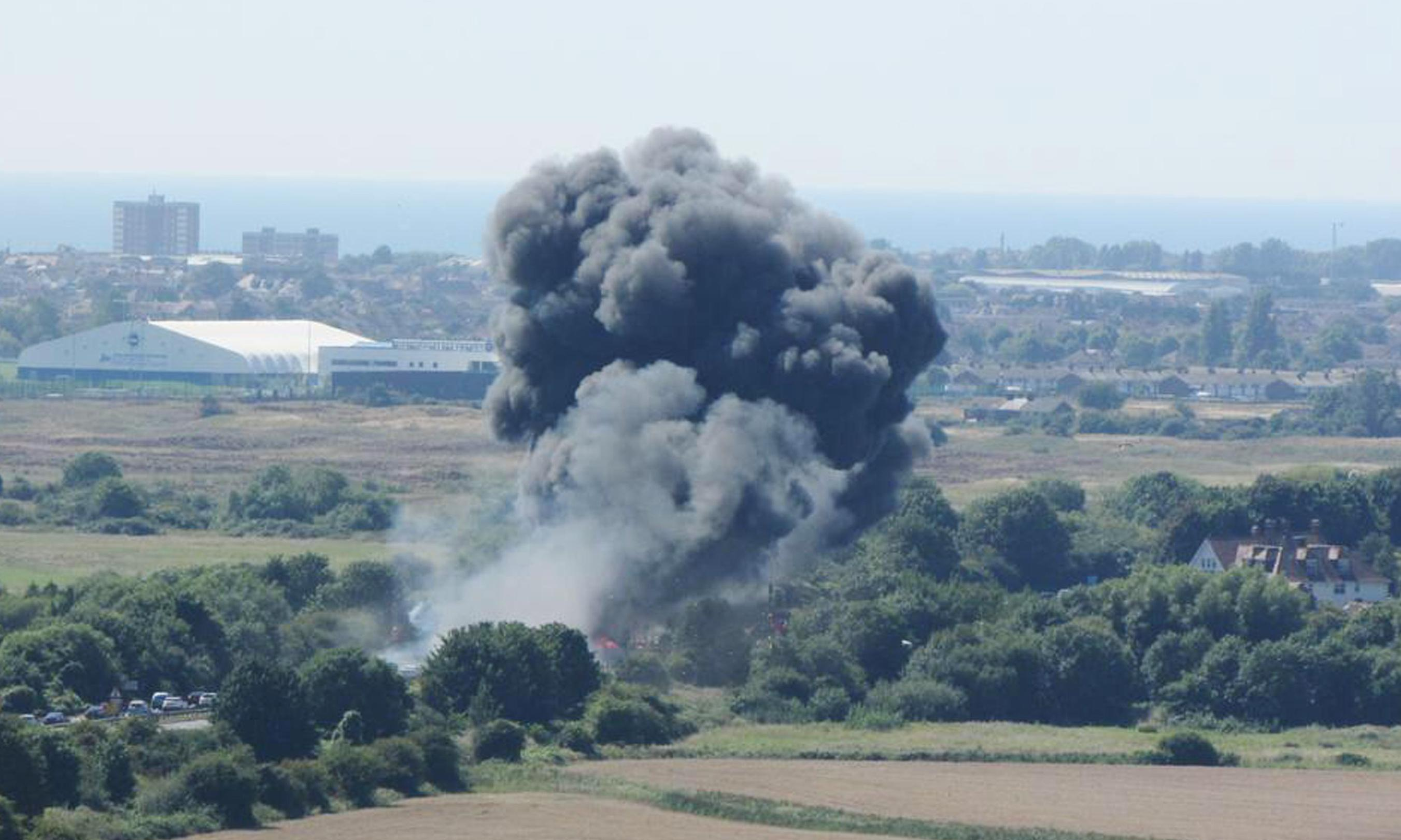 Shoreham airshow trial: pilot admits very limited experience with plane that crashed