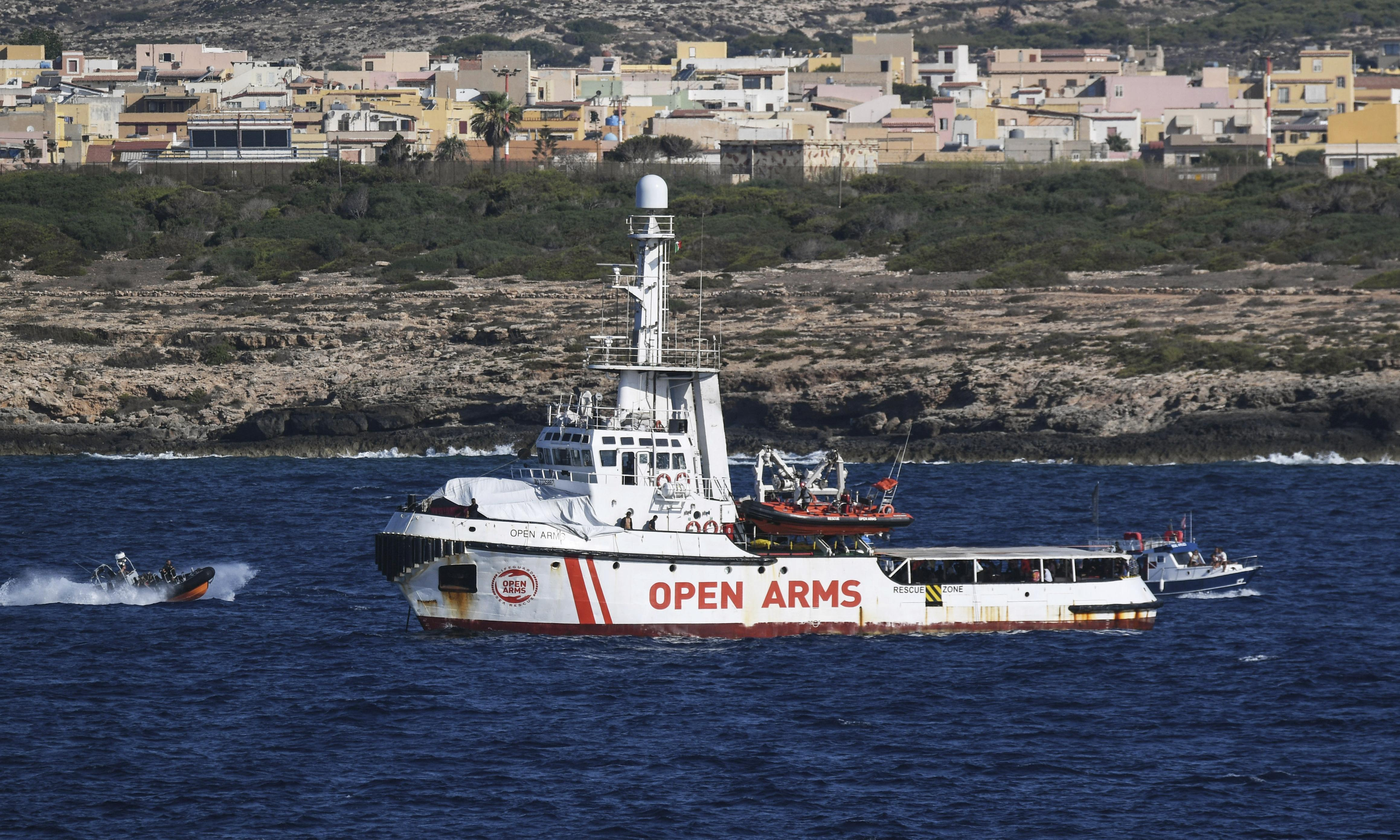 People on rescue ship off Italy at breaking point, say doctors