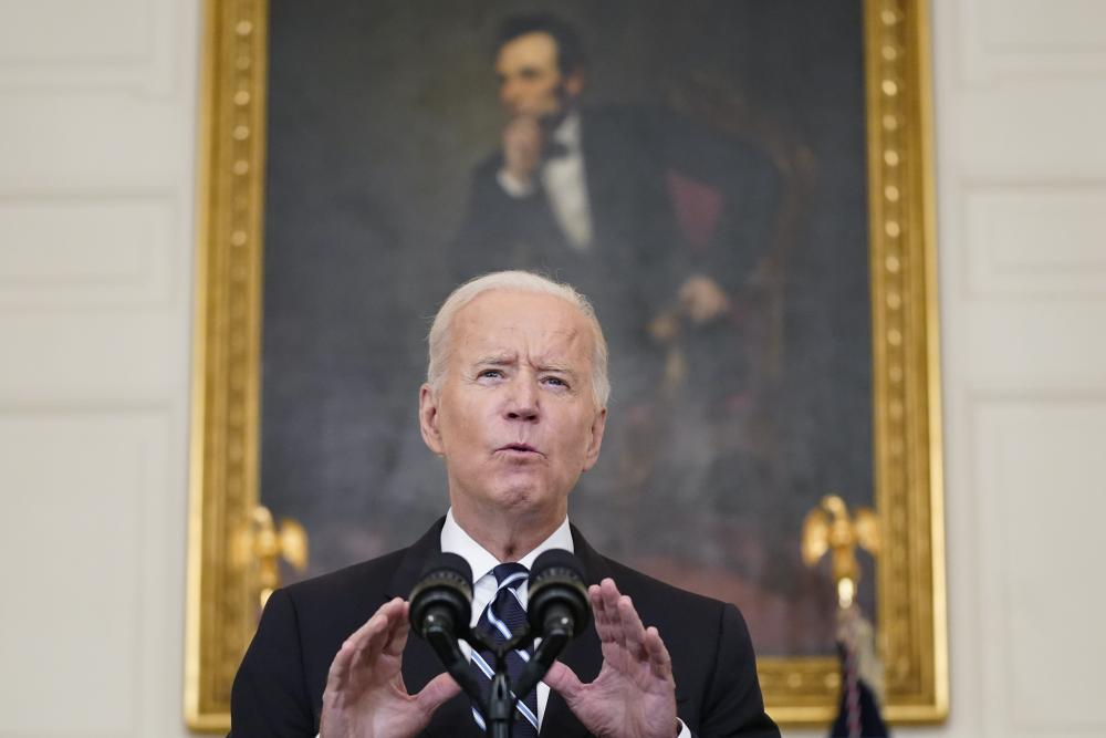 Joe Biden announcing sweeping new federal vaccine requirements affecting as many as 100 million Americans in an all-out effort to increase Covid-19 vaccinations and curb the surging Delta variant.