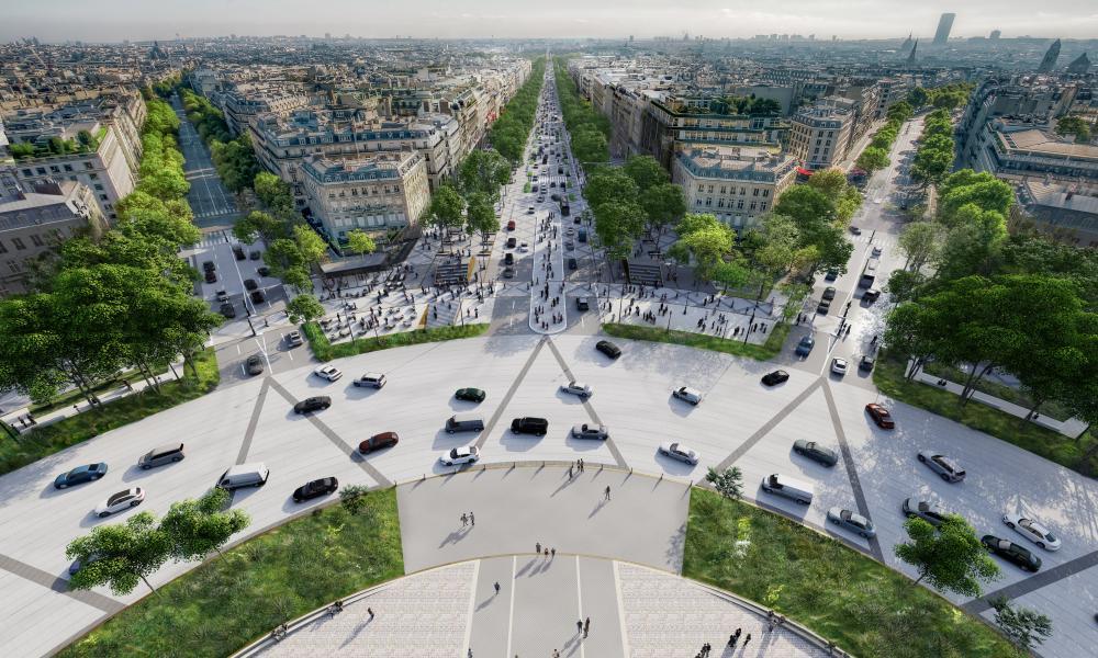 A  reimagining of the Champs-Élysées