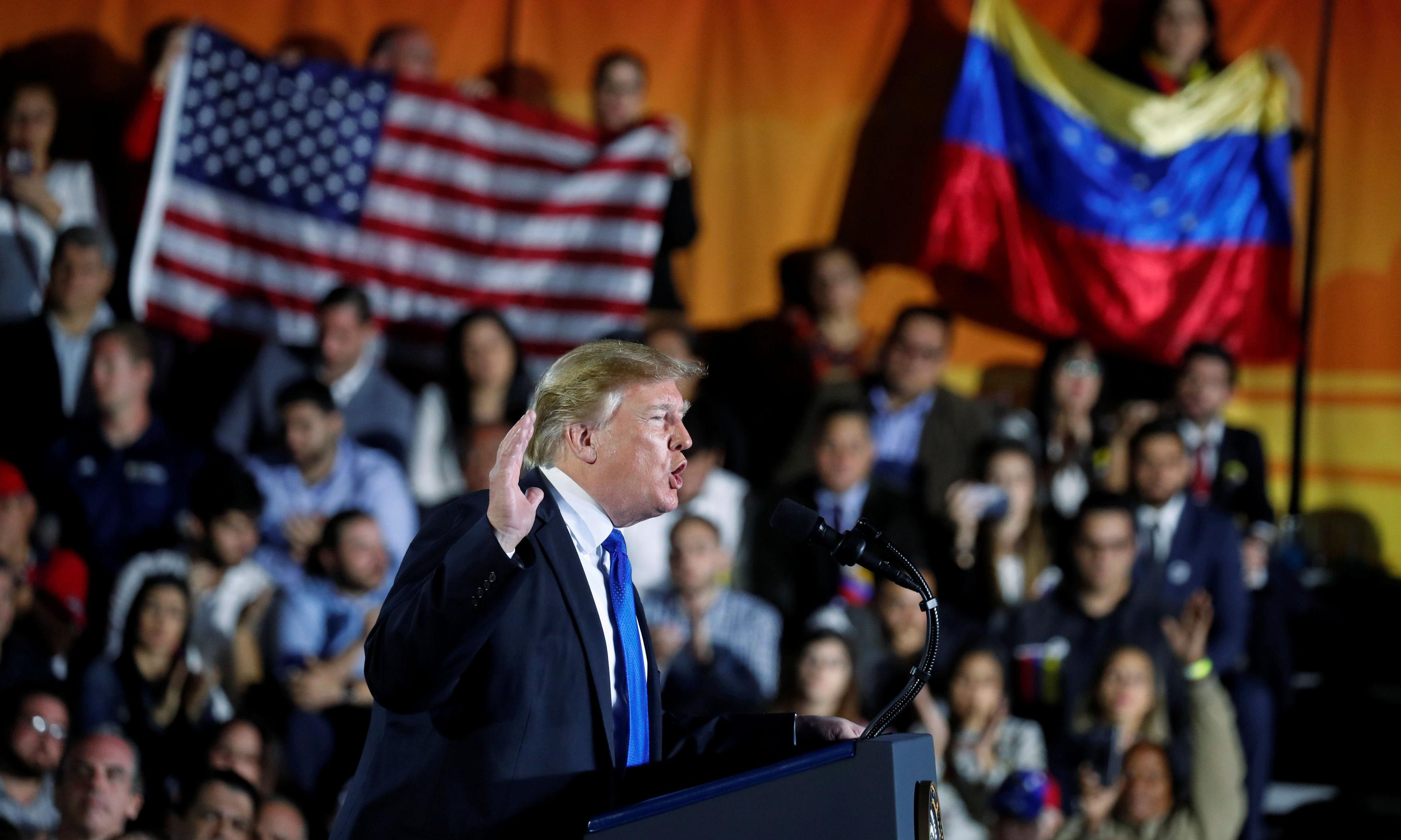 'Let your people go': Trump calls on Maduro loyalists to end nightmare of his regime