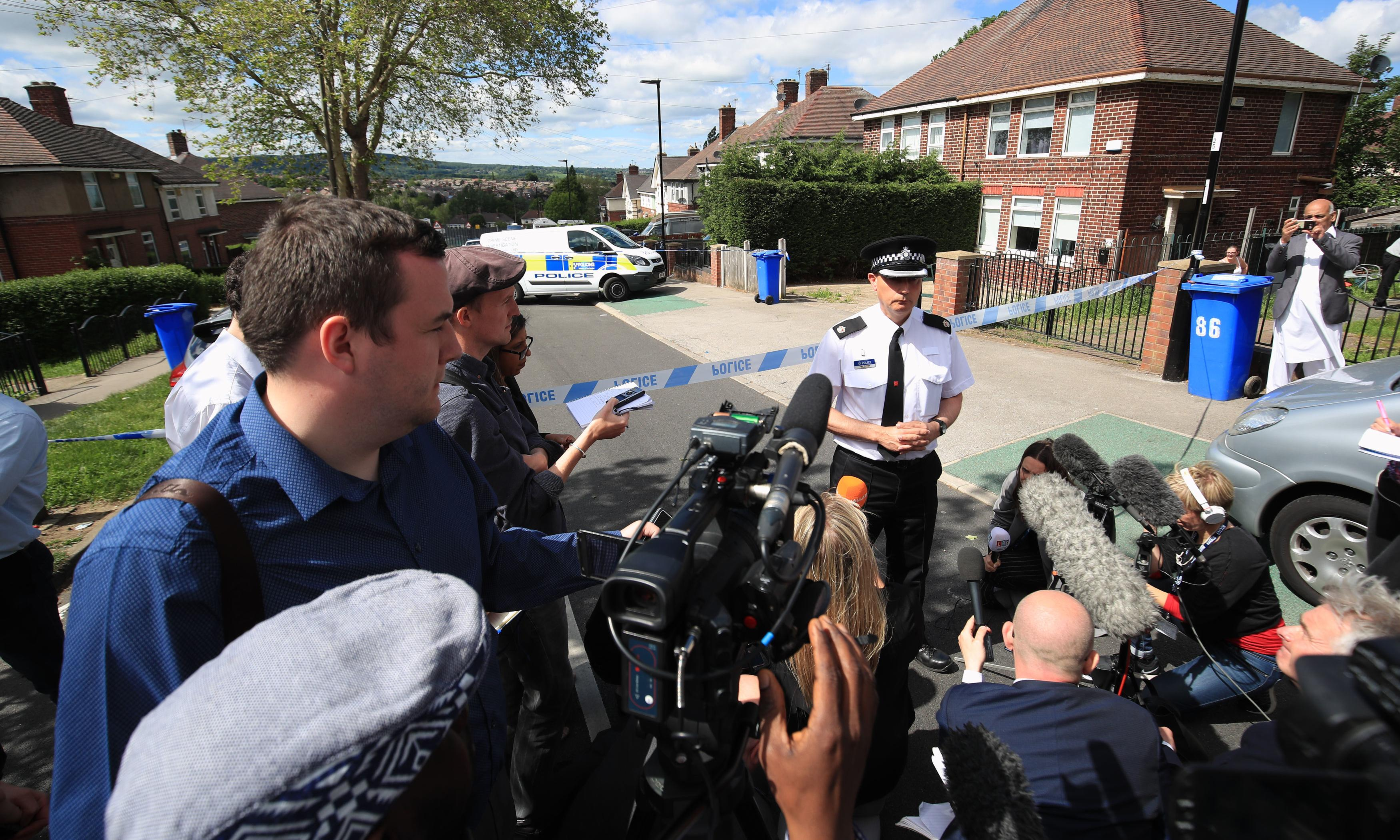 Sheffield incident: four rescued children released from hospital