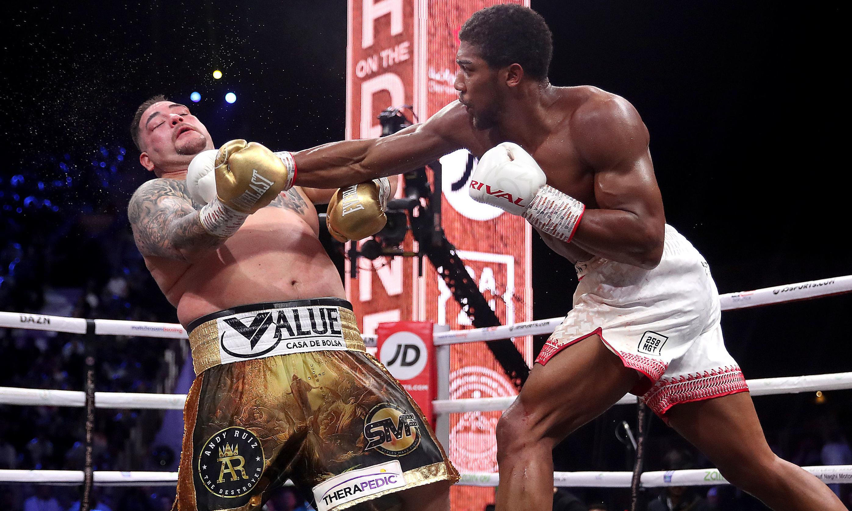 Anthony Joshua outfoxes Andy Ruiz Jr to dance back into boxing's big time