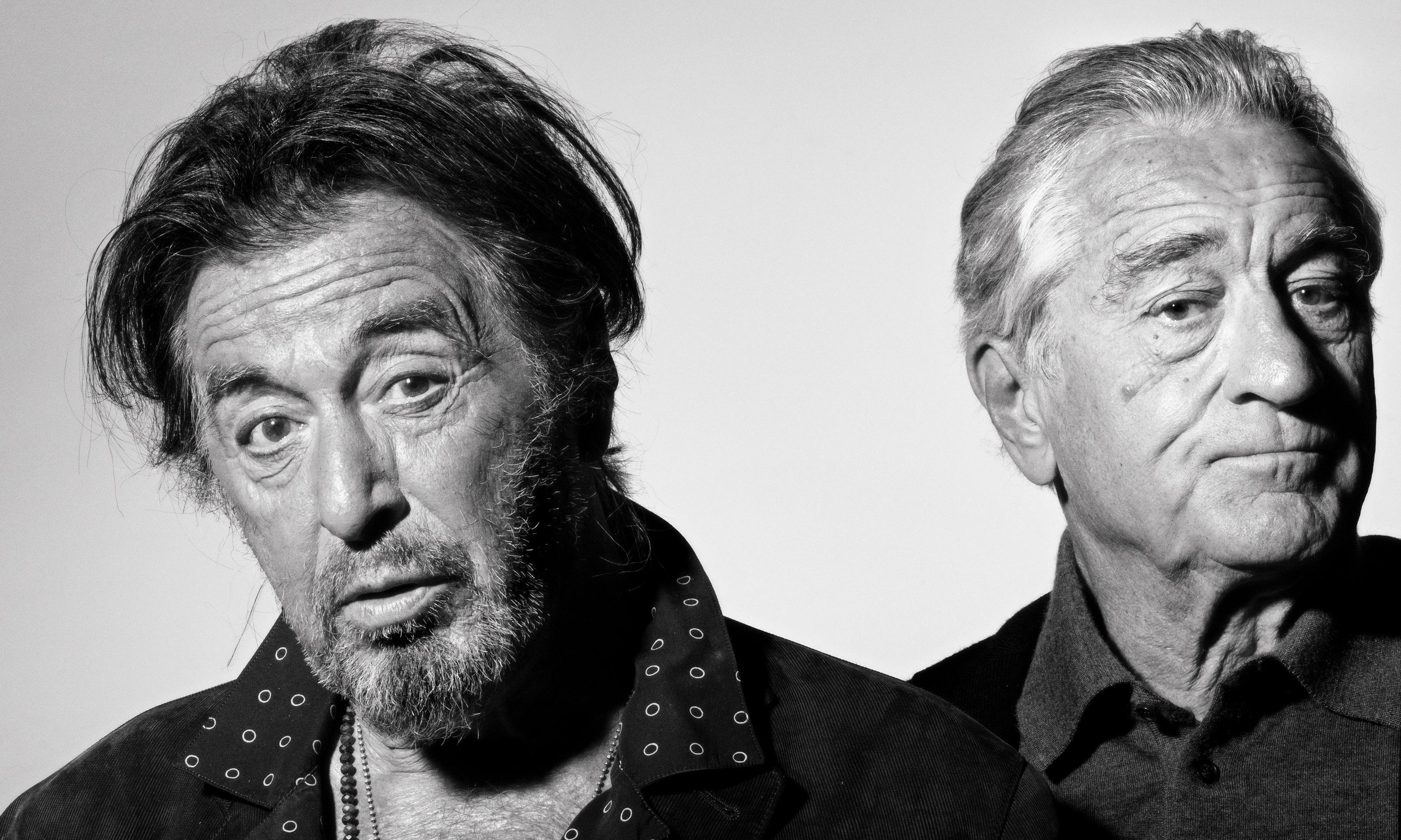 Robert De Niro and Al Pacino: 'We're not doing this ever again'