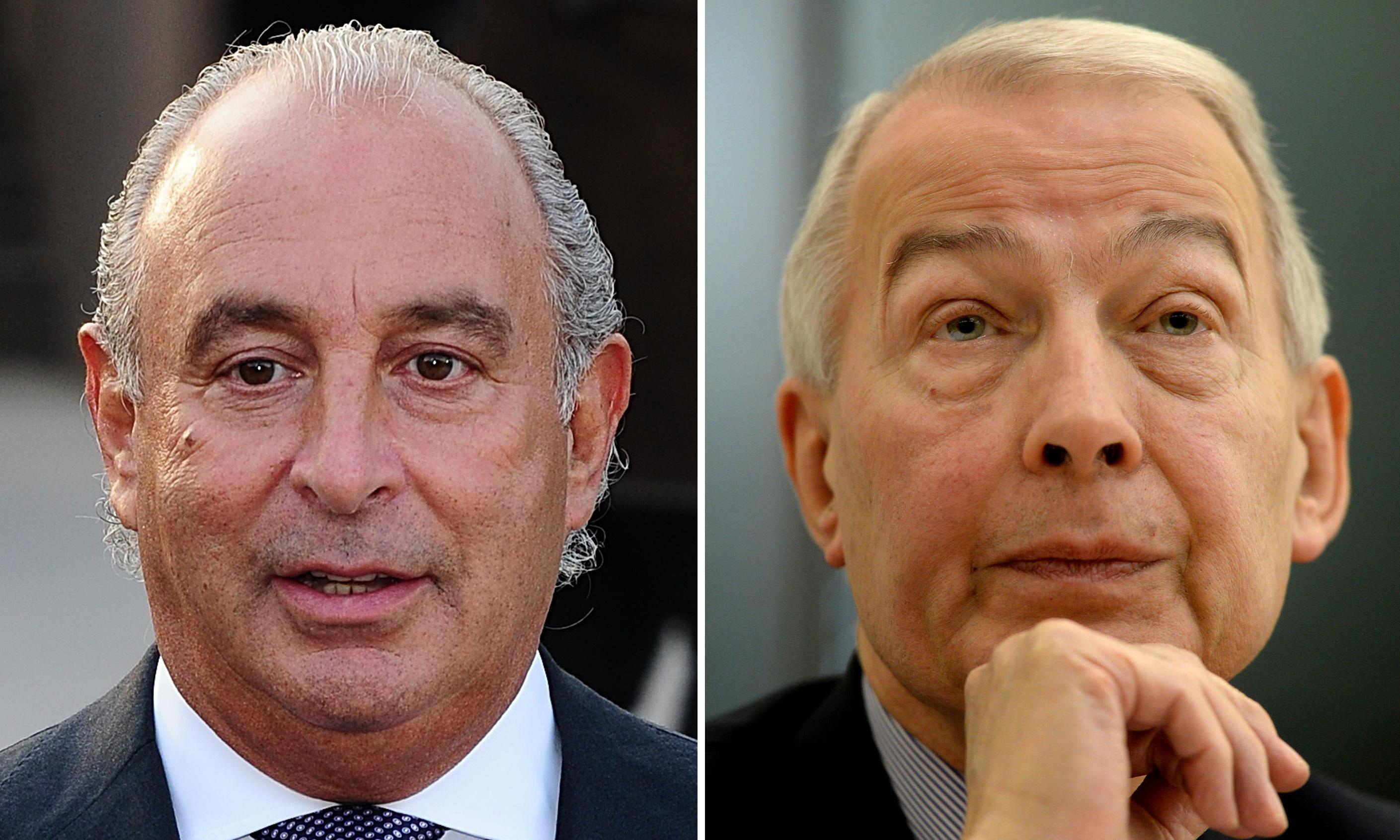 Frank Field resumes fight with Philip Green amid Arcadia pension row
