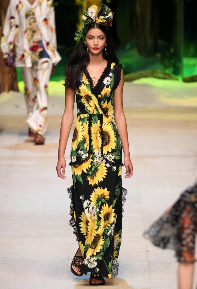 Dolce & Gabbana, Milan fashion week SS17.