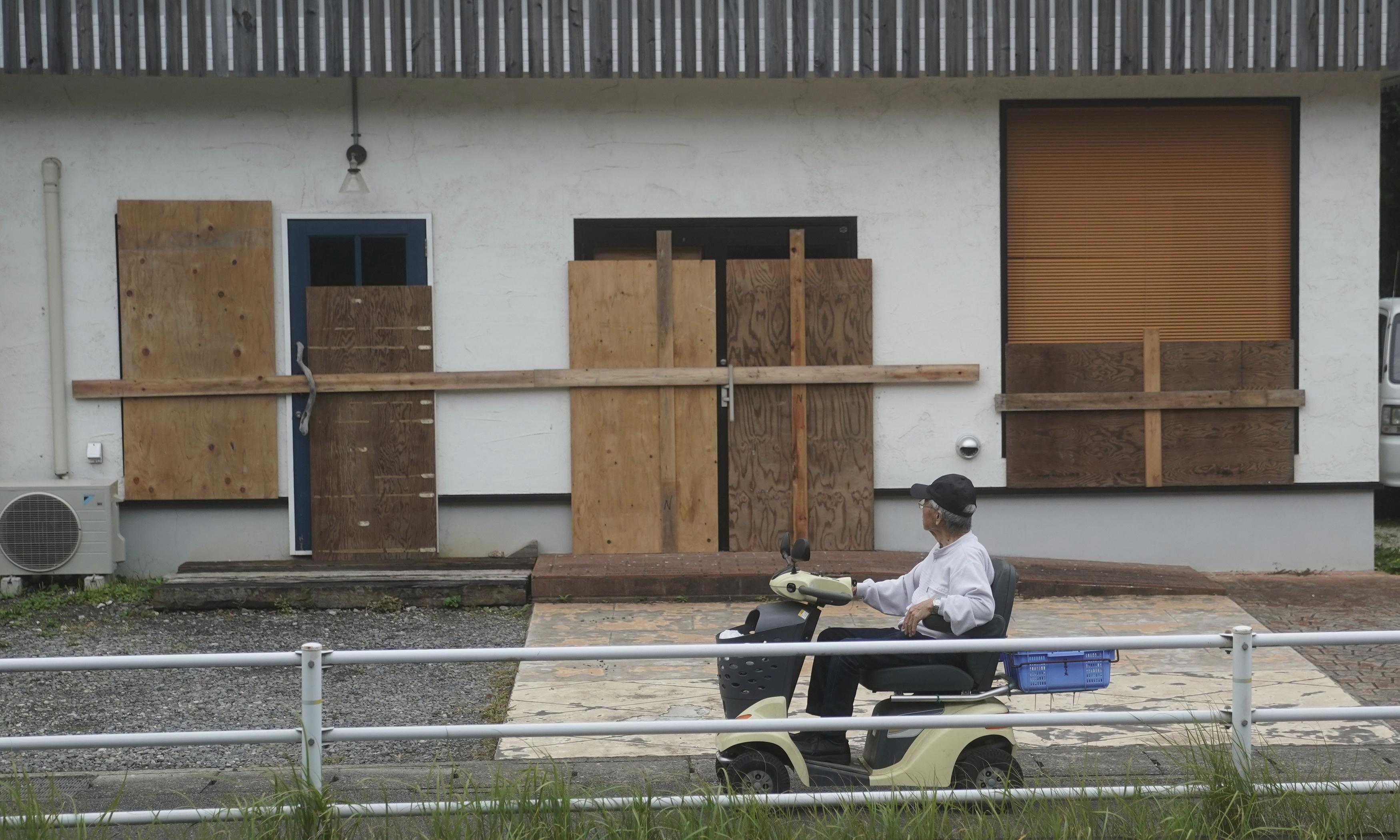 Japan orders evacuations as Typhoon Hagibis arrives