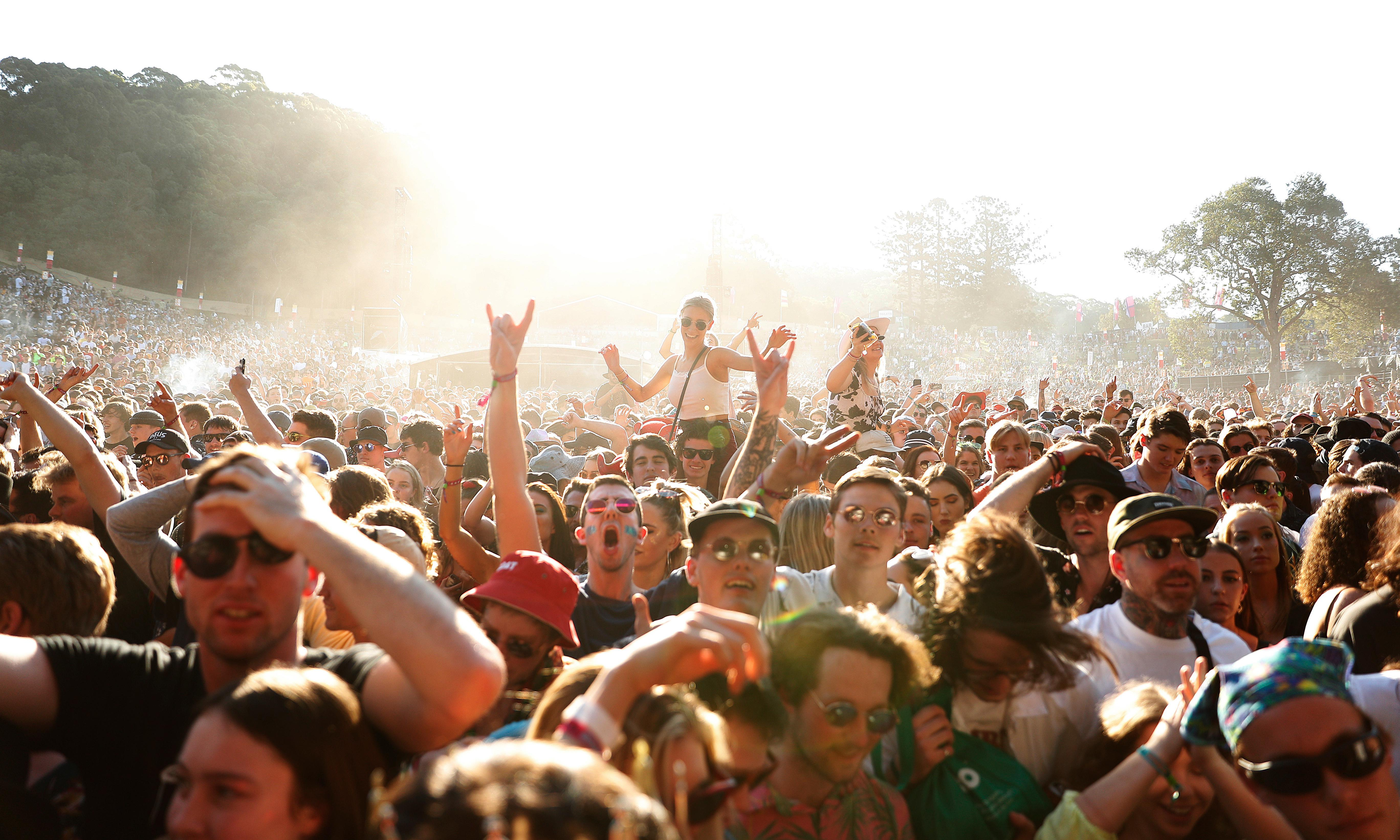 Police strip searched 16-year-old girl at Splendour music festival, inquiry hears
