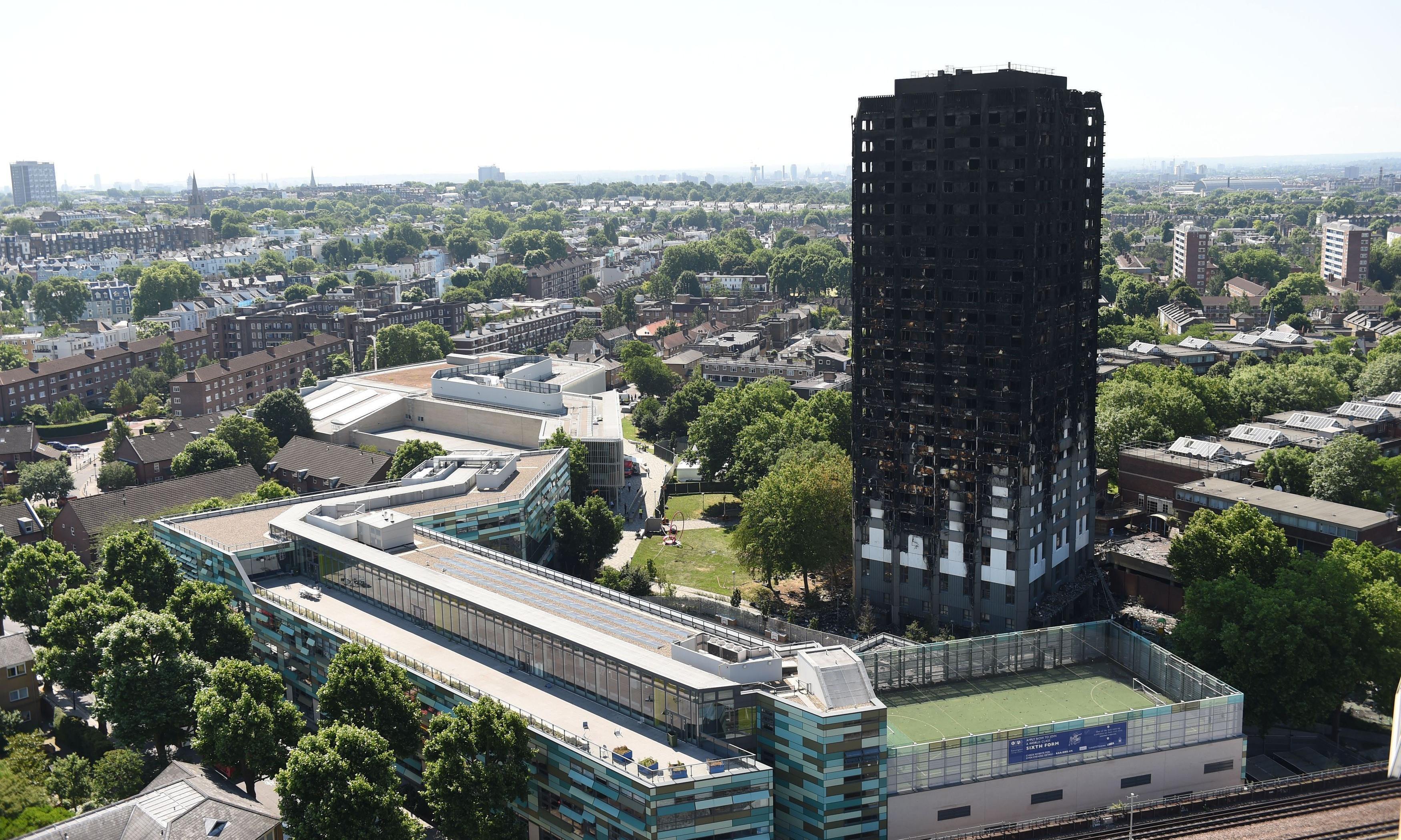 Met interviews London fire brigade over Grenfell Tower disaster