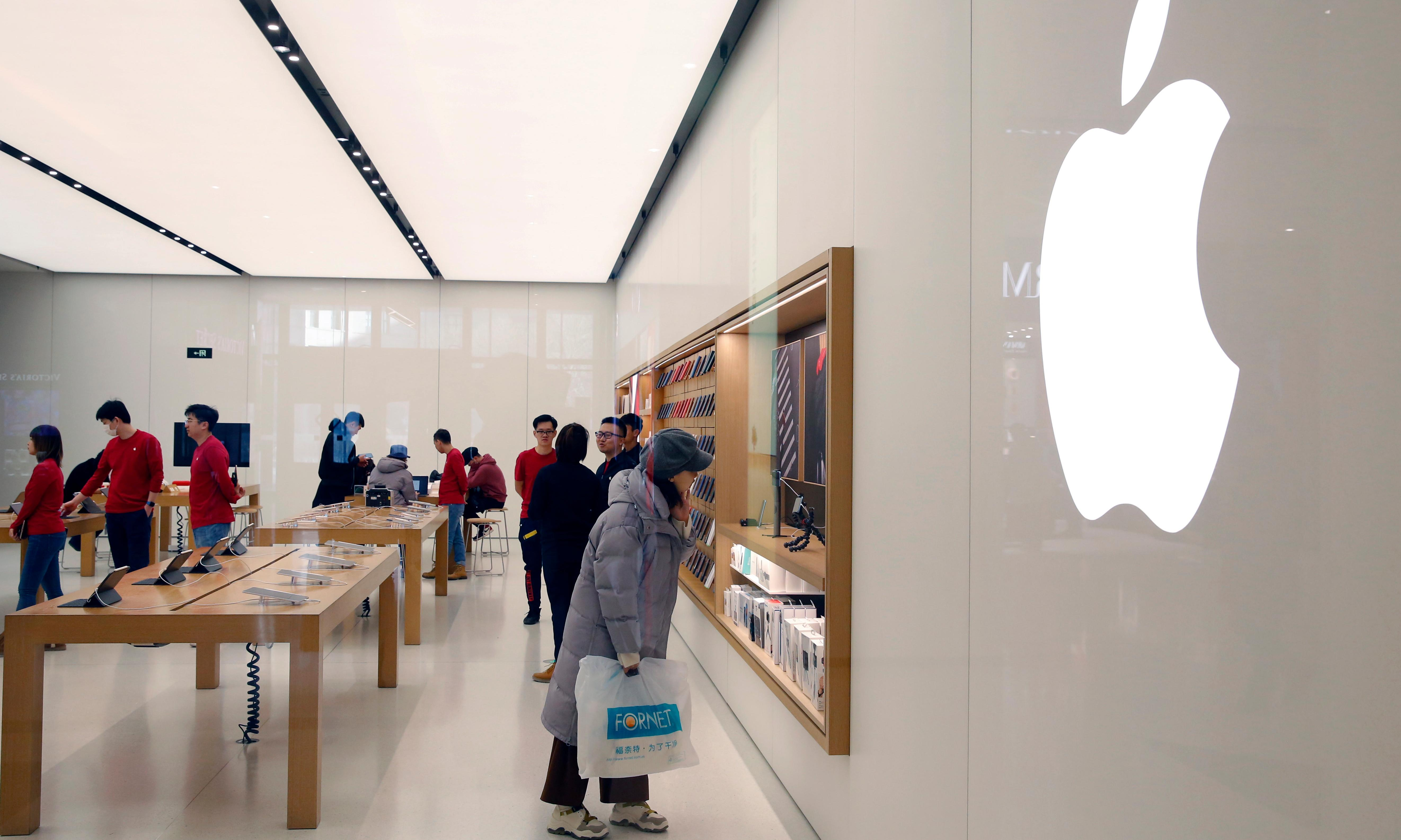 Apple and China's problems show that today's titans may not rule the world tomorrow
