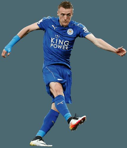 Leicester City footballer Jamie Vardy