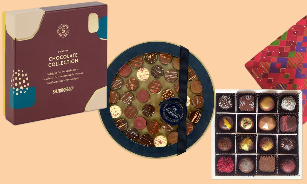 Chocolate boxes under £20