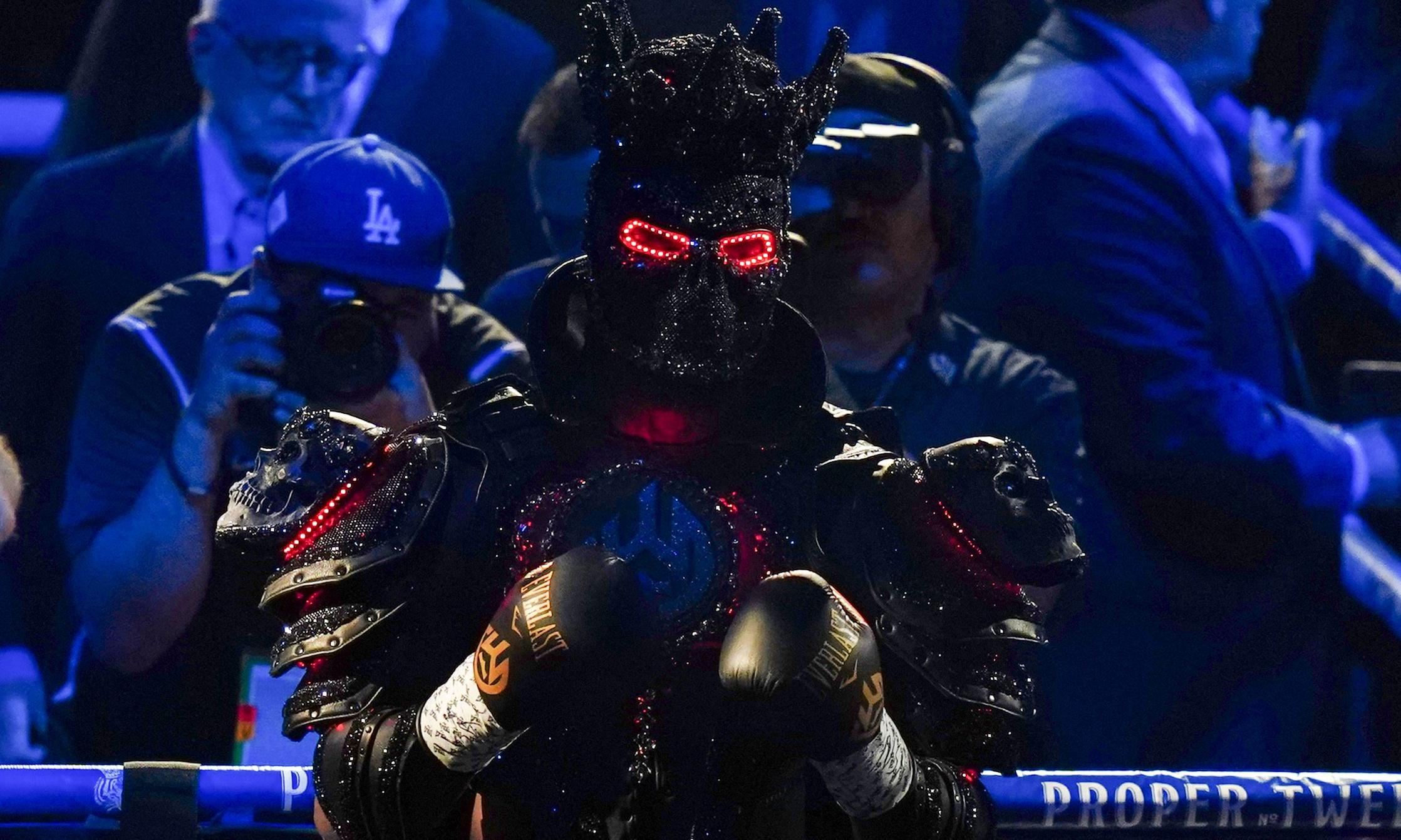 Deontay Wilder's attempt to blame defeat on 40lb costume carries little weight