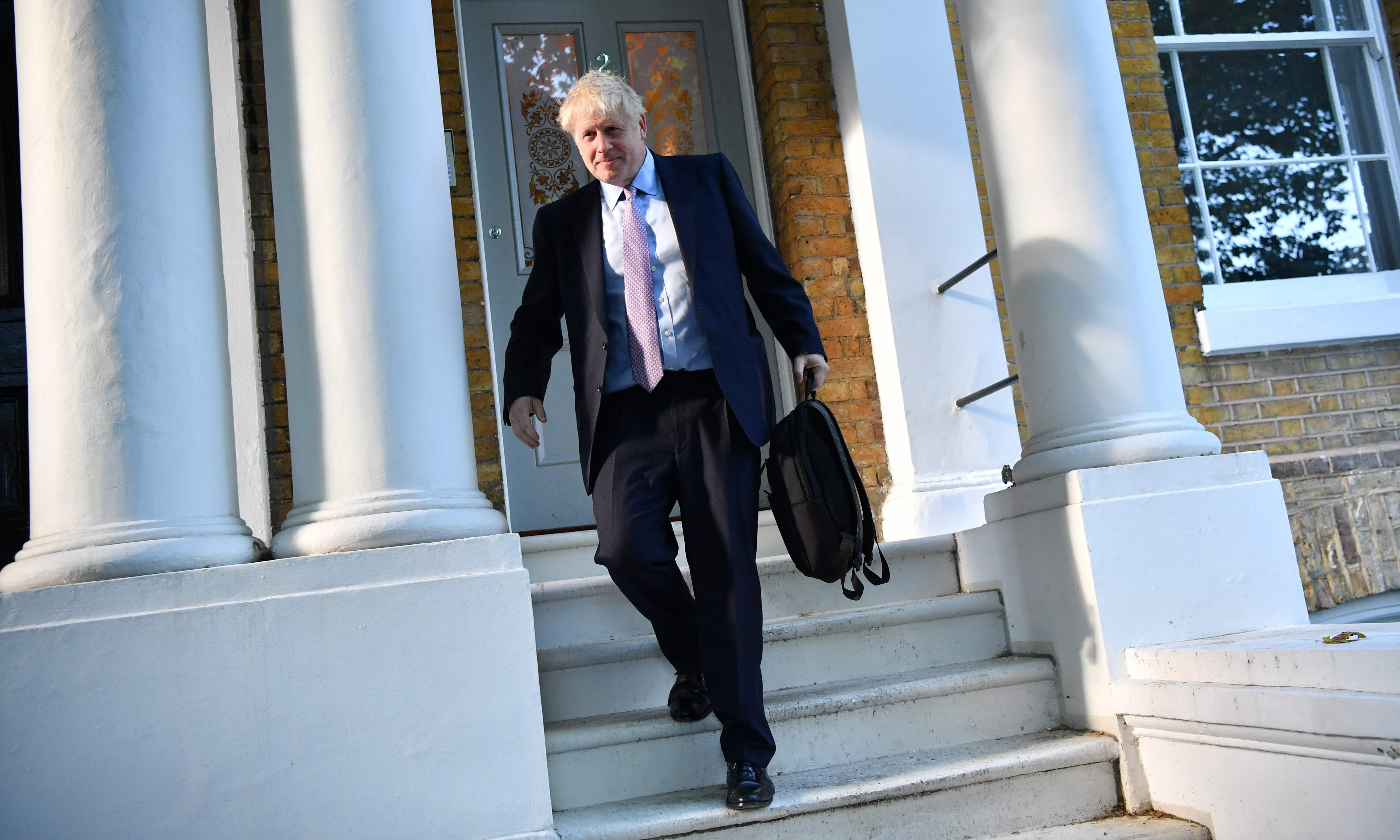 Boris Johnson: police called to loud altercation at potential PM's home