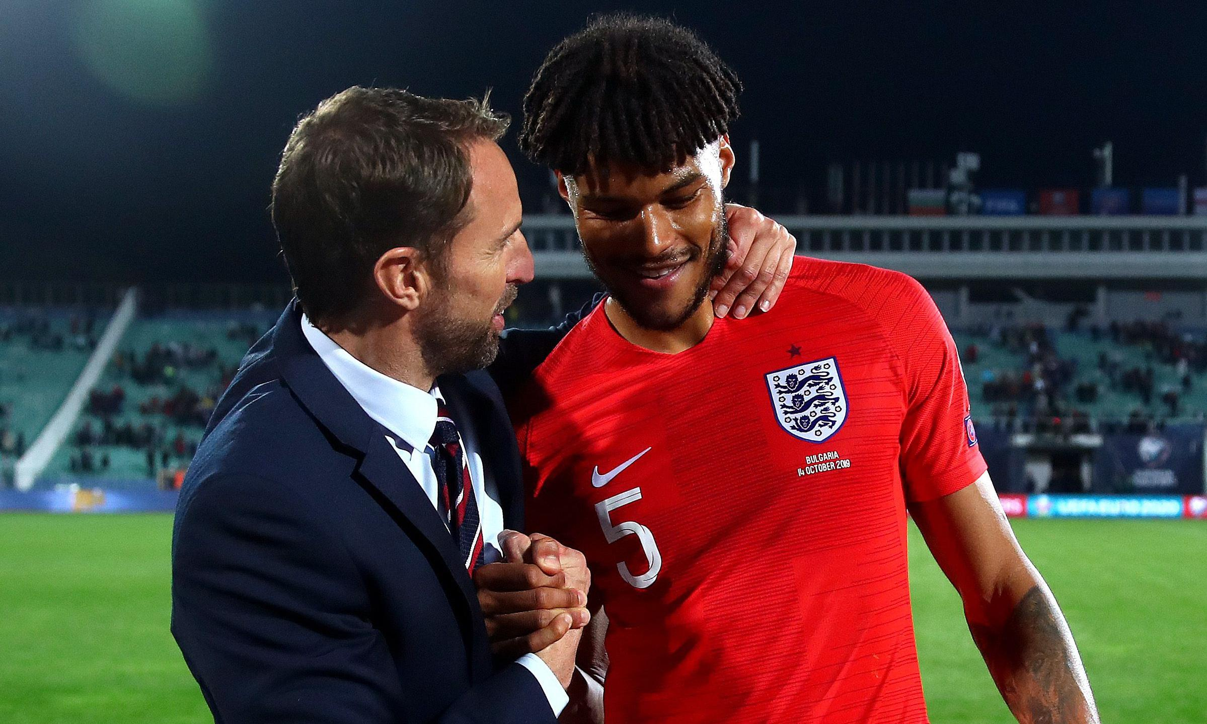 At least England's footballers lead by example in the face of racism