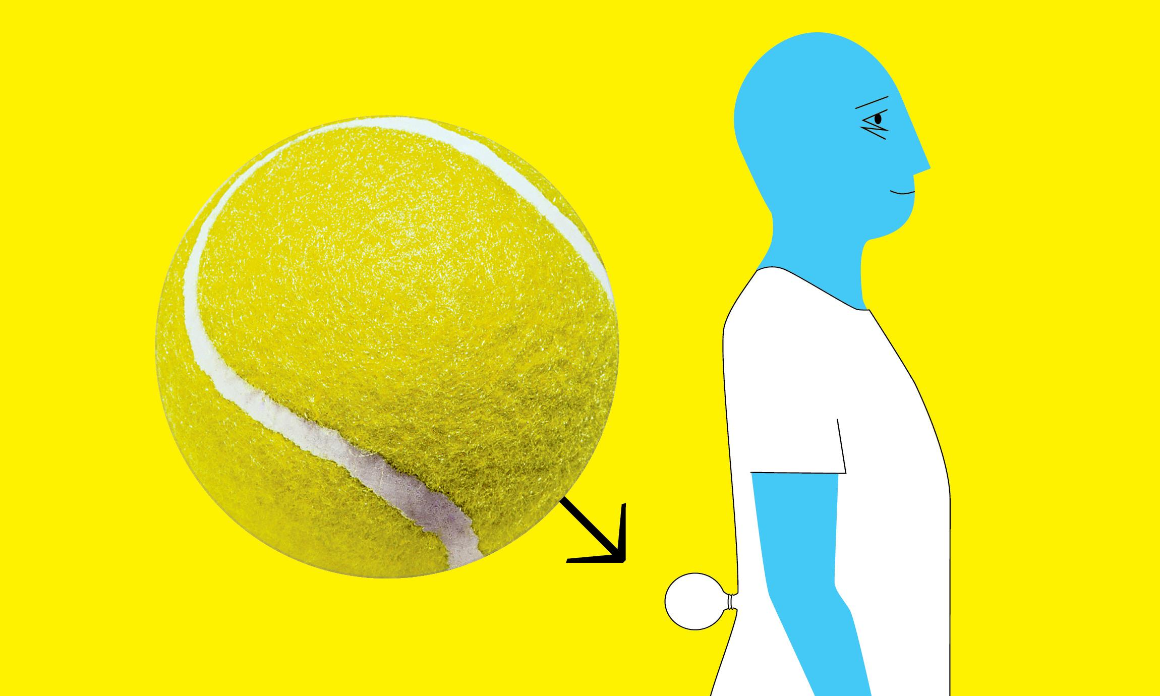 Can a well-positioned tennis ball help prevent snoring?