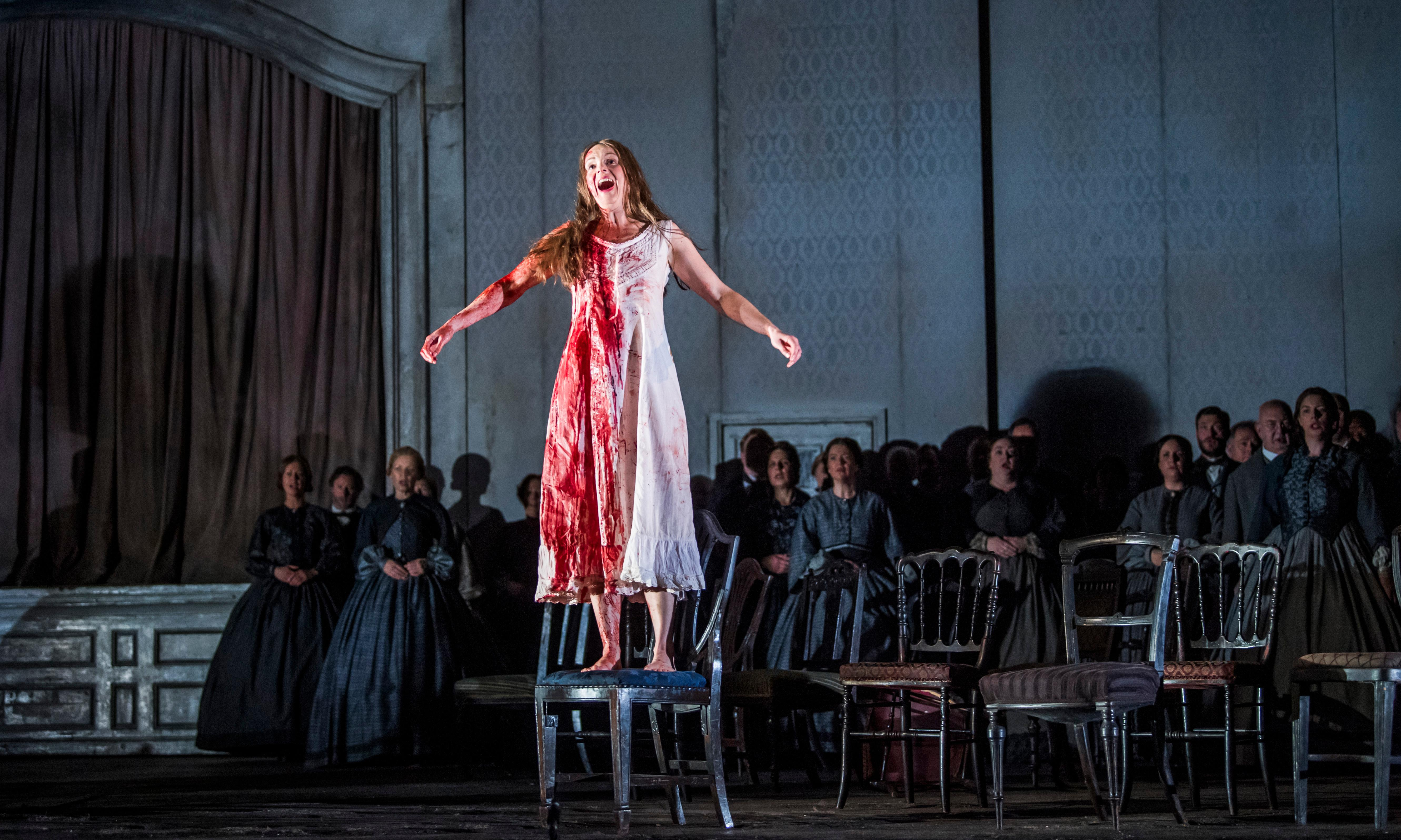 Lucia di Lammermoor review – a superbly cogent piece of theatre
