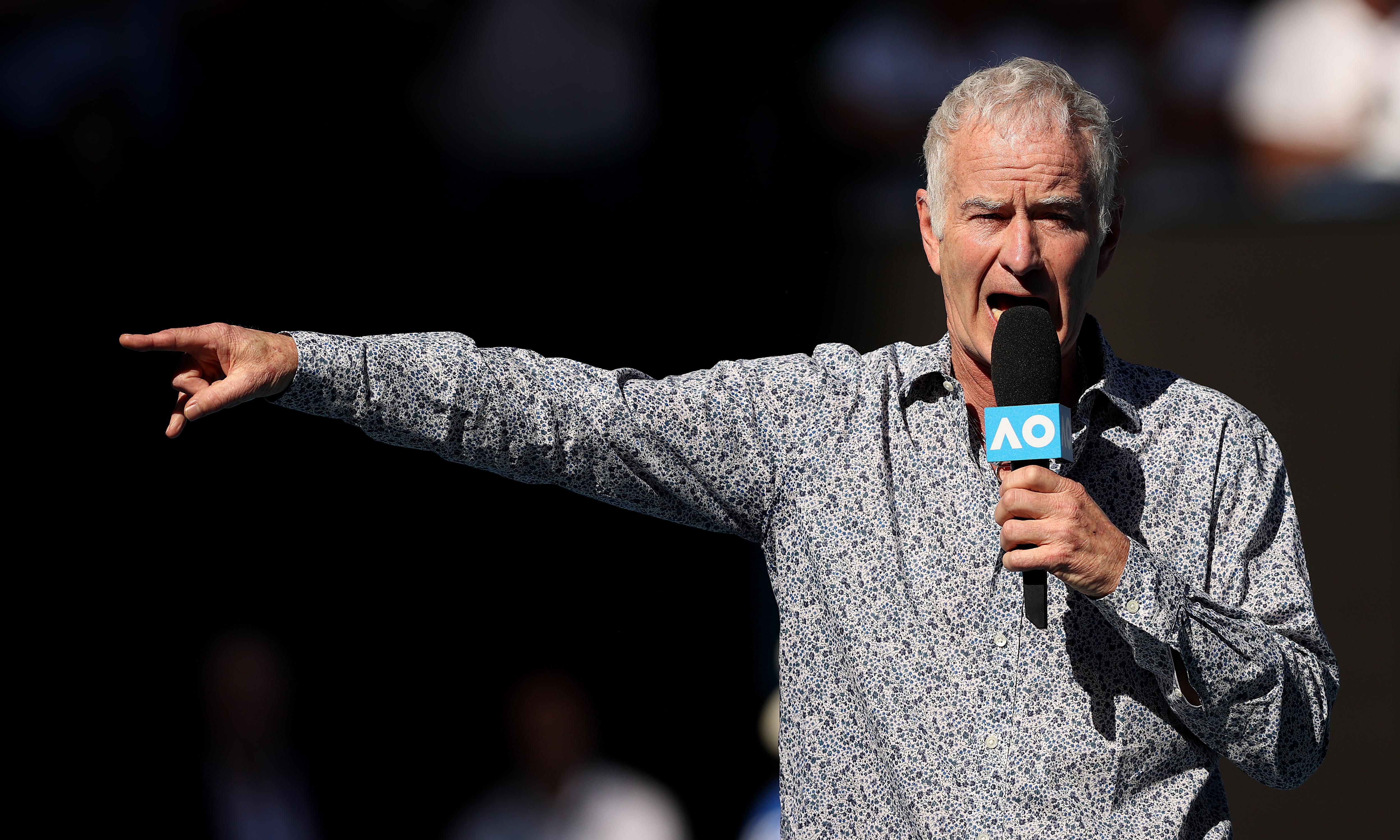 John McEnroe slams Margaret Court as the 'crazy aunt' of tennis