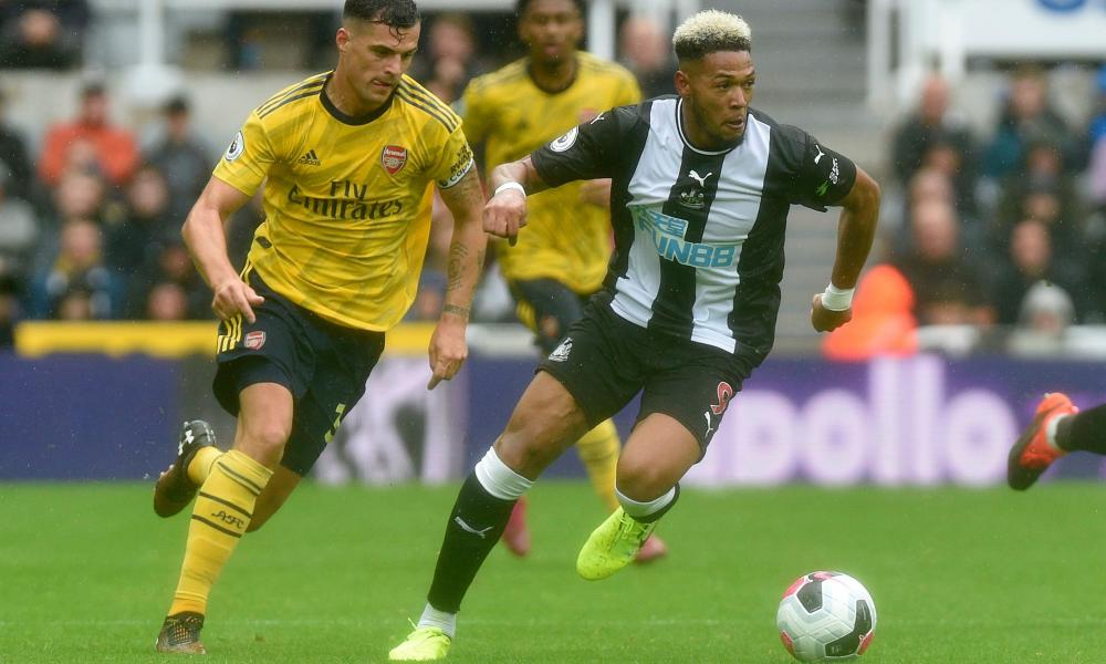 Newcastle spent £40m on the Brazilian winger Joelinton this summer.