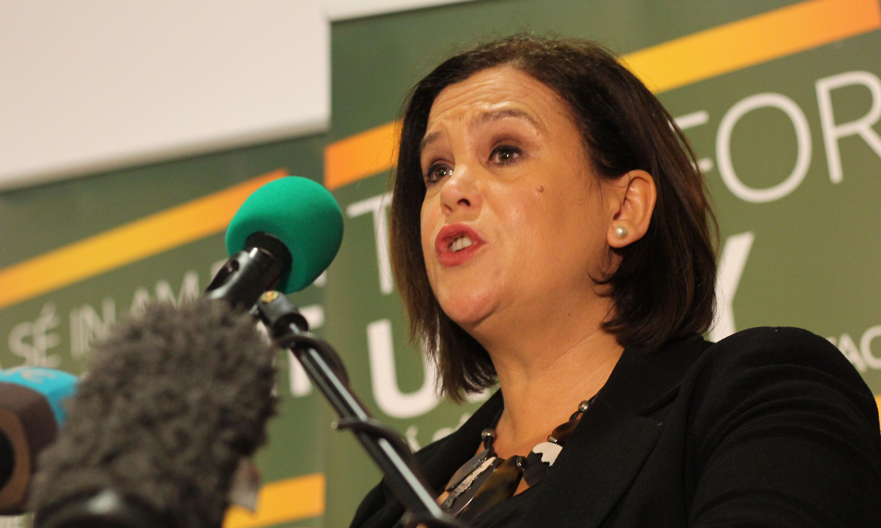 Mary-Lou McDonald: violent dissident republicans should disband