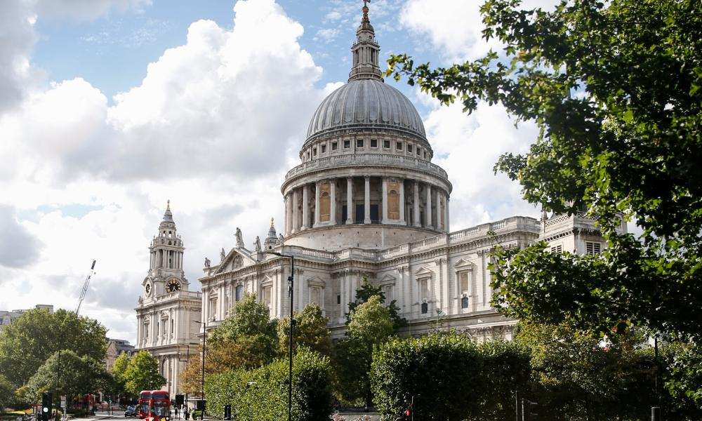 St Paul's Cathedral, declared officially complete the year before Handel arrived in London.