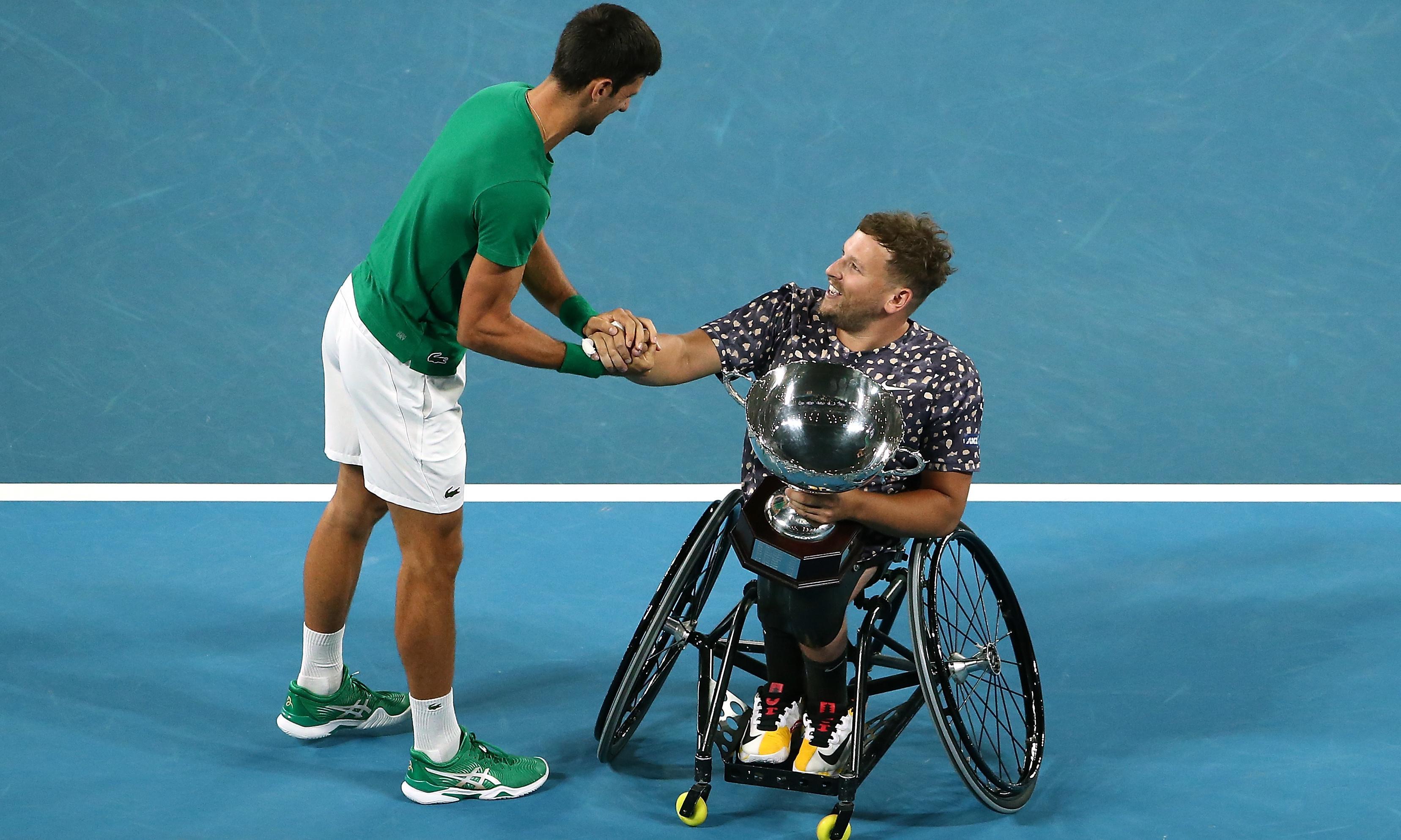 Dylan Alcott wins sixth straight Australian Open quad wheelchair title