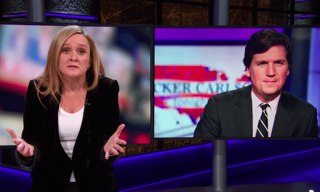 Samantha Bee: 'I'm not saying Tucker Carlson's a white supremacist. No, sorry, yes I am'